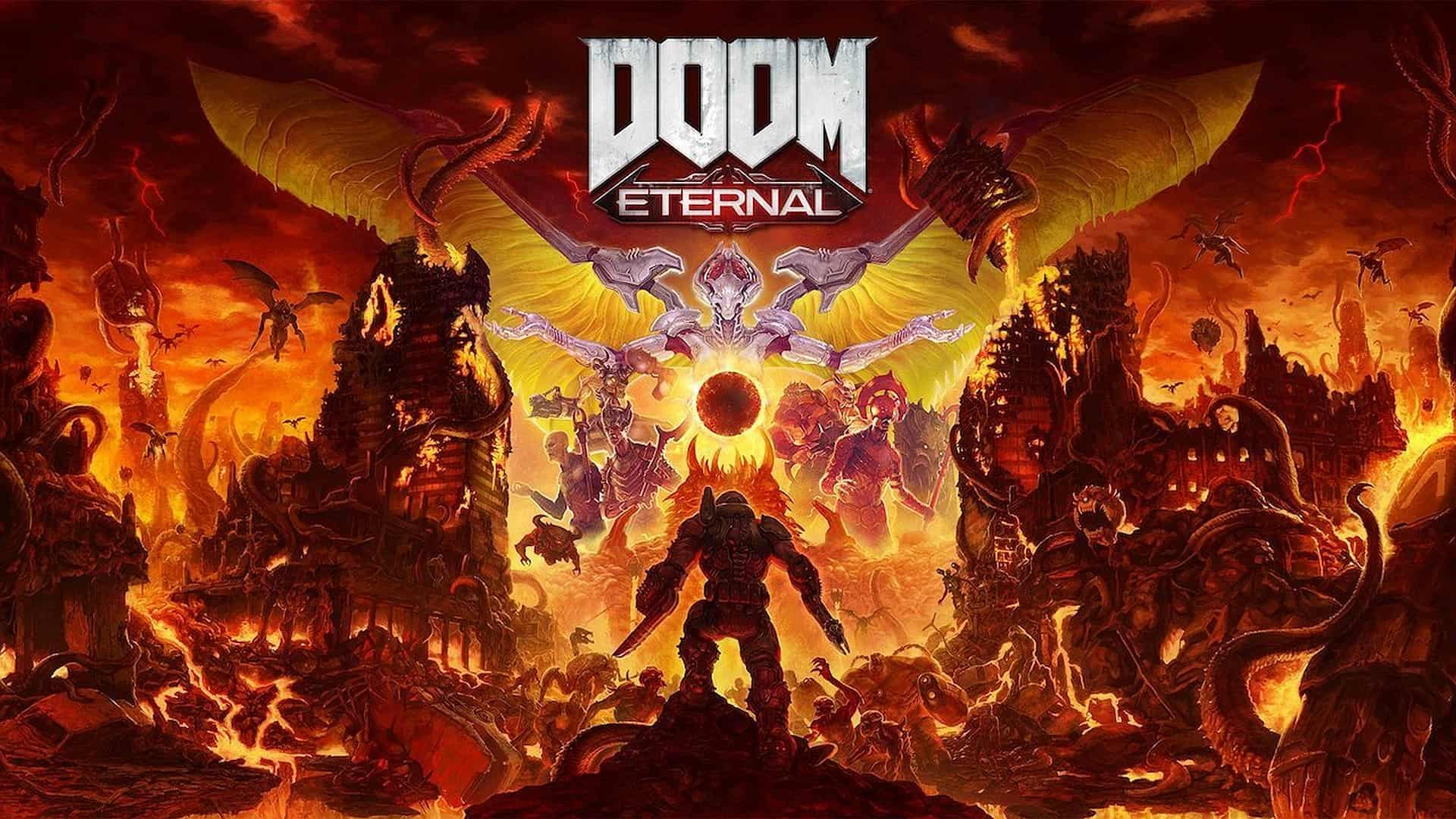 DOOM Eternal Available Now on Nintendo Switch