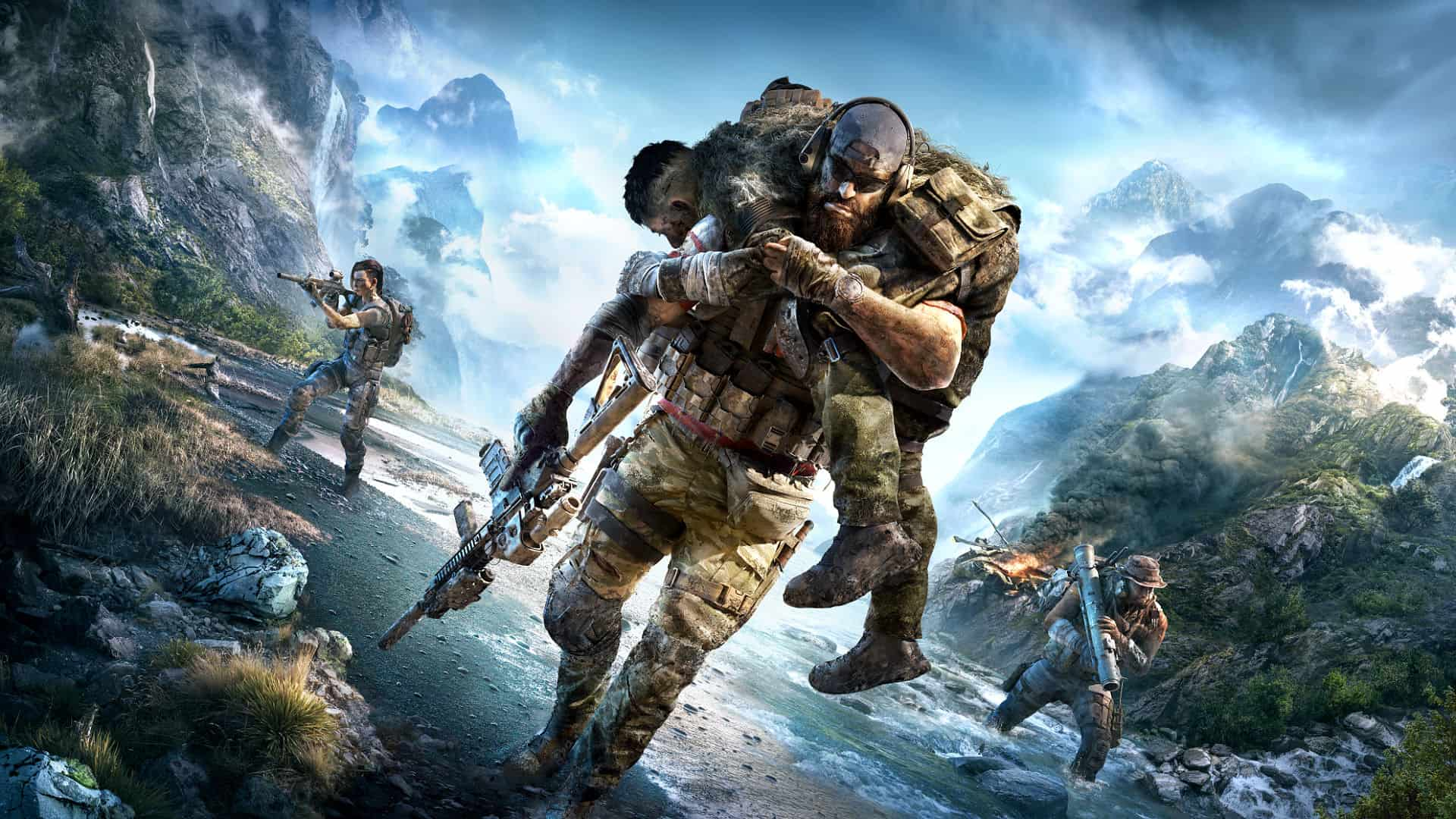 Survive And Thrive In The Wilds Of Ghost Recon Breakpoint With Radeon Graphics