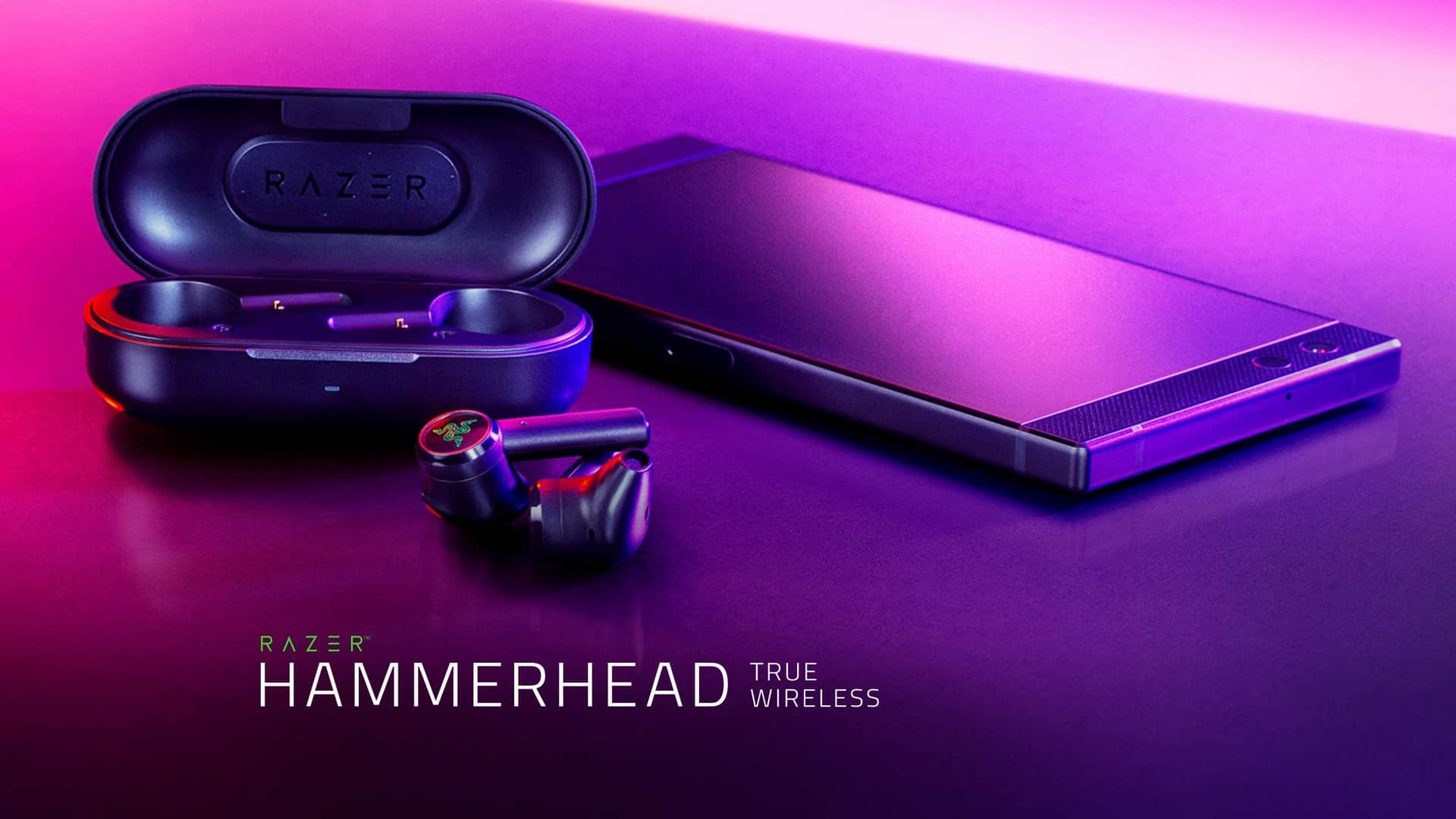 Eliminate Audio Lag With The Razer Hammerhead True Wireless Earbuds