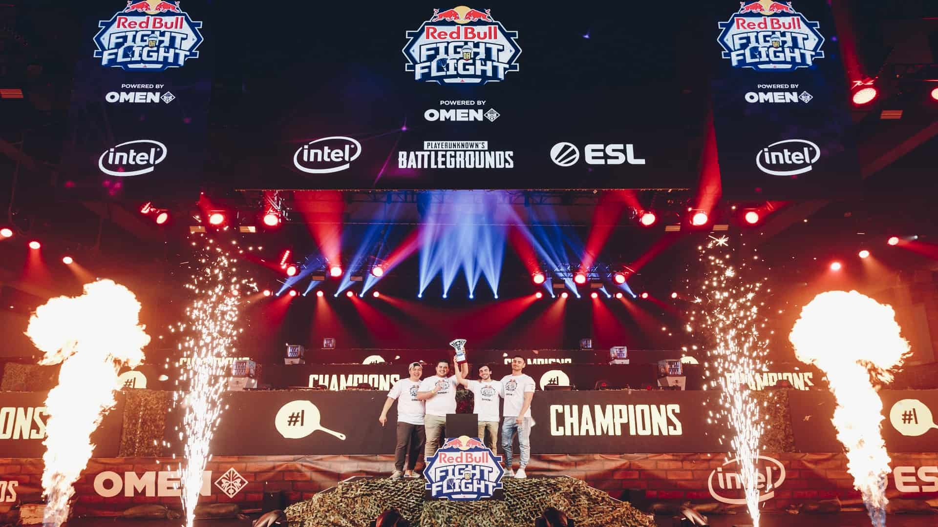 Team Immunity Win Red Bull Fight or Flight Grand Final