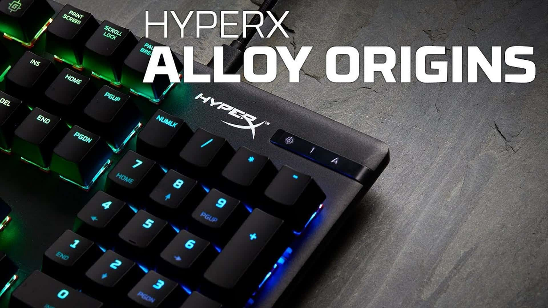 HyperX Branded Switches Now Shipping on Alloy Origins Mechanical Gaming Keyboard in Australia and New Zealand