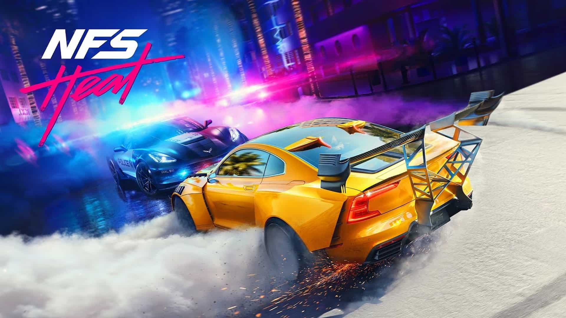 Race Into The Night In Need For Speed Heat, Available Worldwide Now