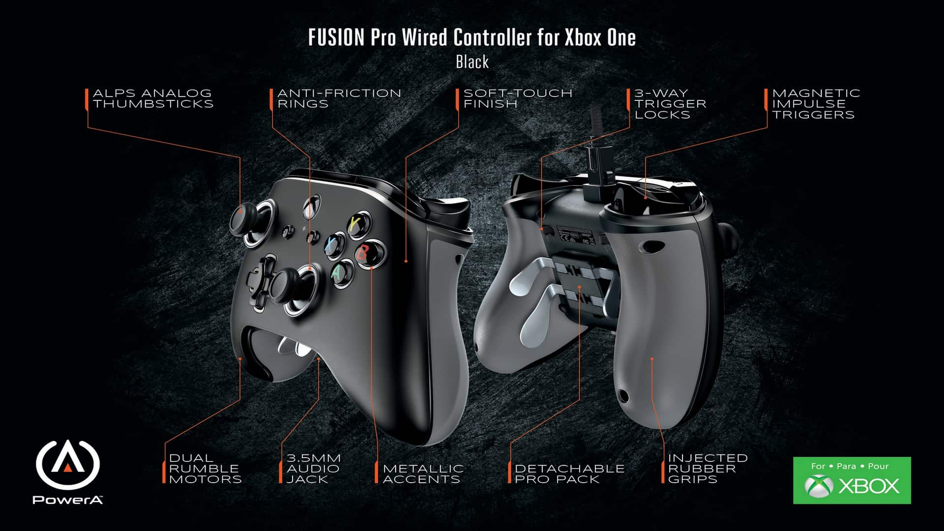 Control Your Destiny With The FUSION Pro Wired Controller For Xbox One