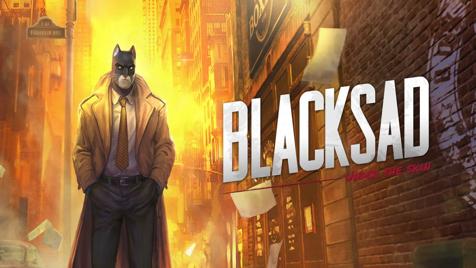Blacksad Is Starting His Investigation Today
