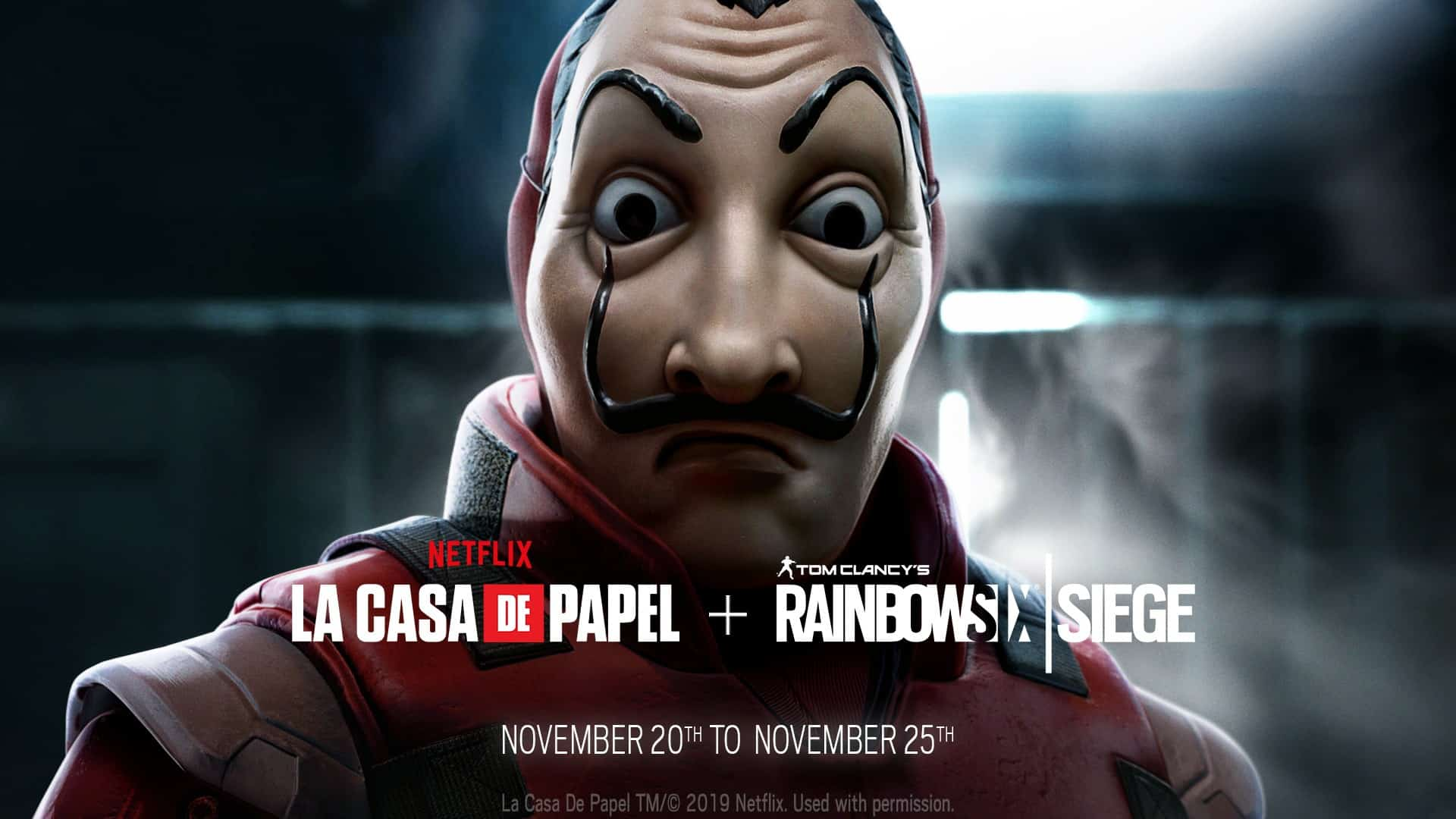 Discover The Time Limited Mini Event Money Heist For Free This Weekend In Rainbow Six Siege