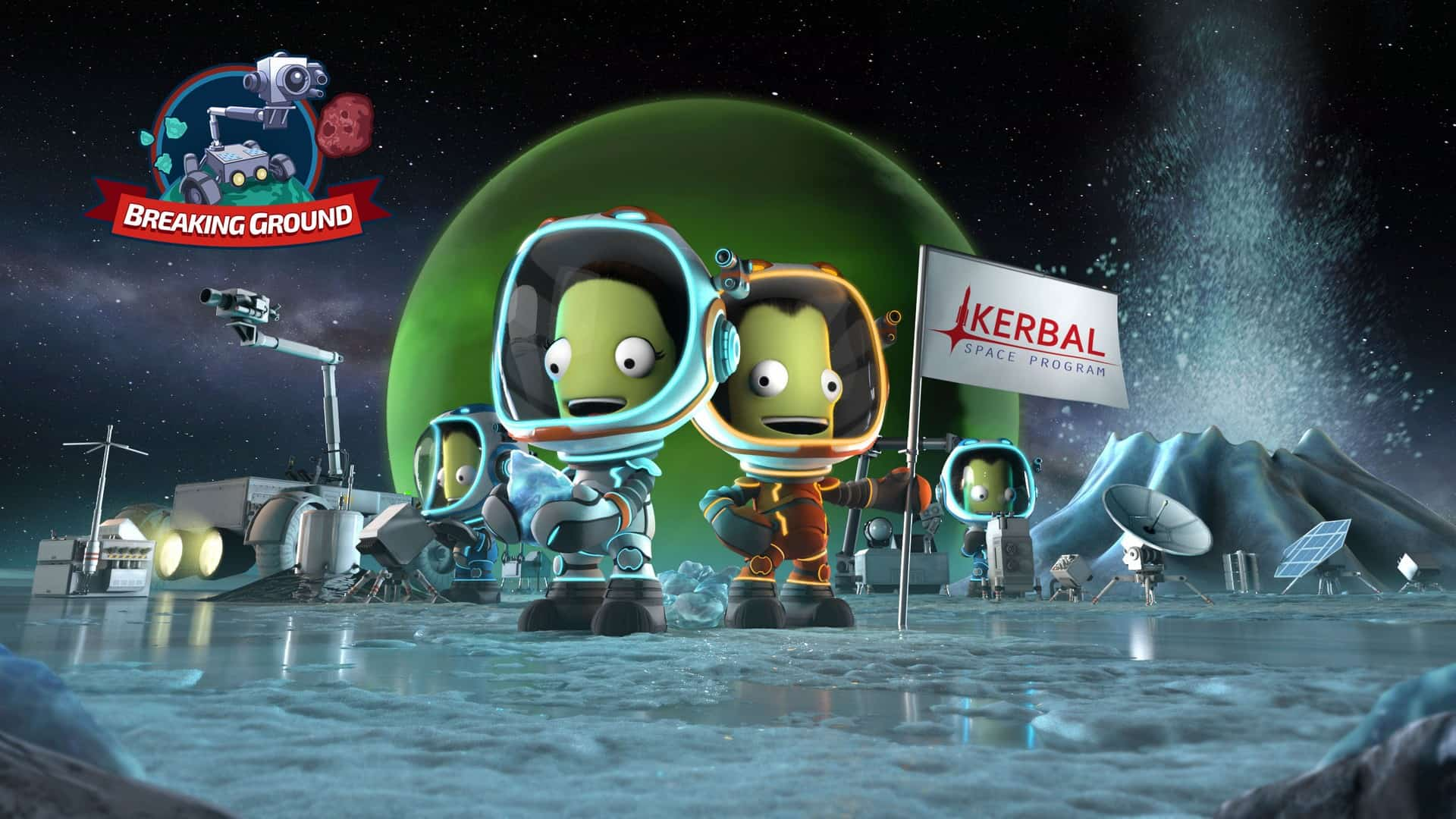 Kerbal Space Program Breaking Ground Expansion Comes To Console This December