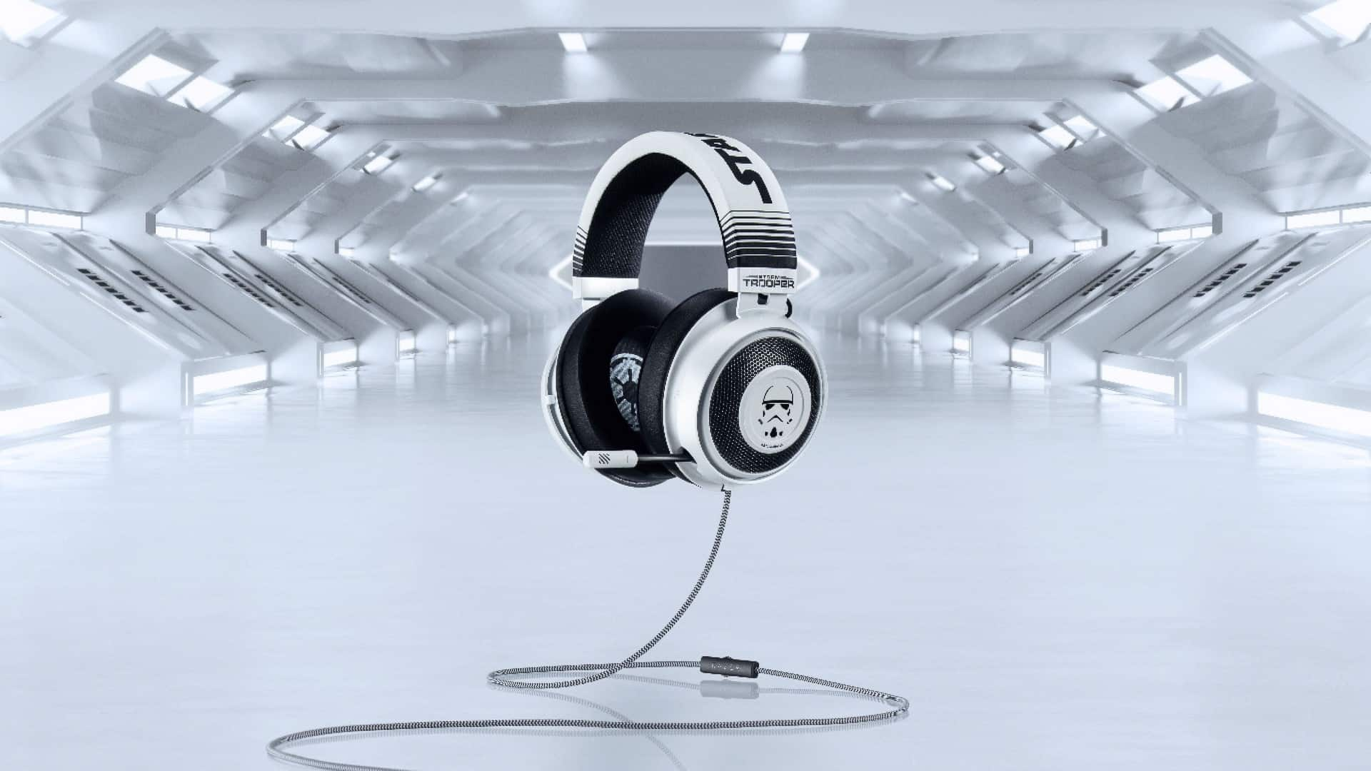 Show Your Allegiance To The Galactic Empire With The Stormtrooper Edition Of The Kraken Headset