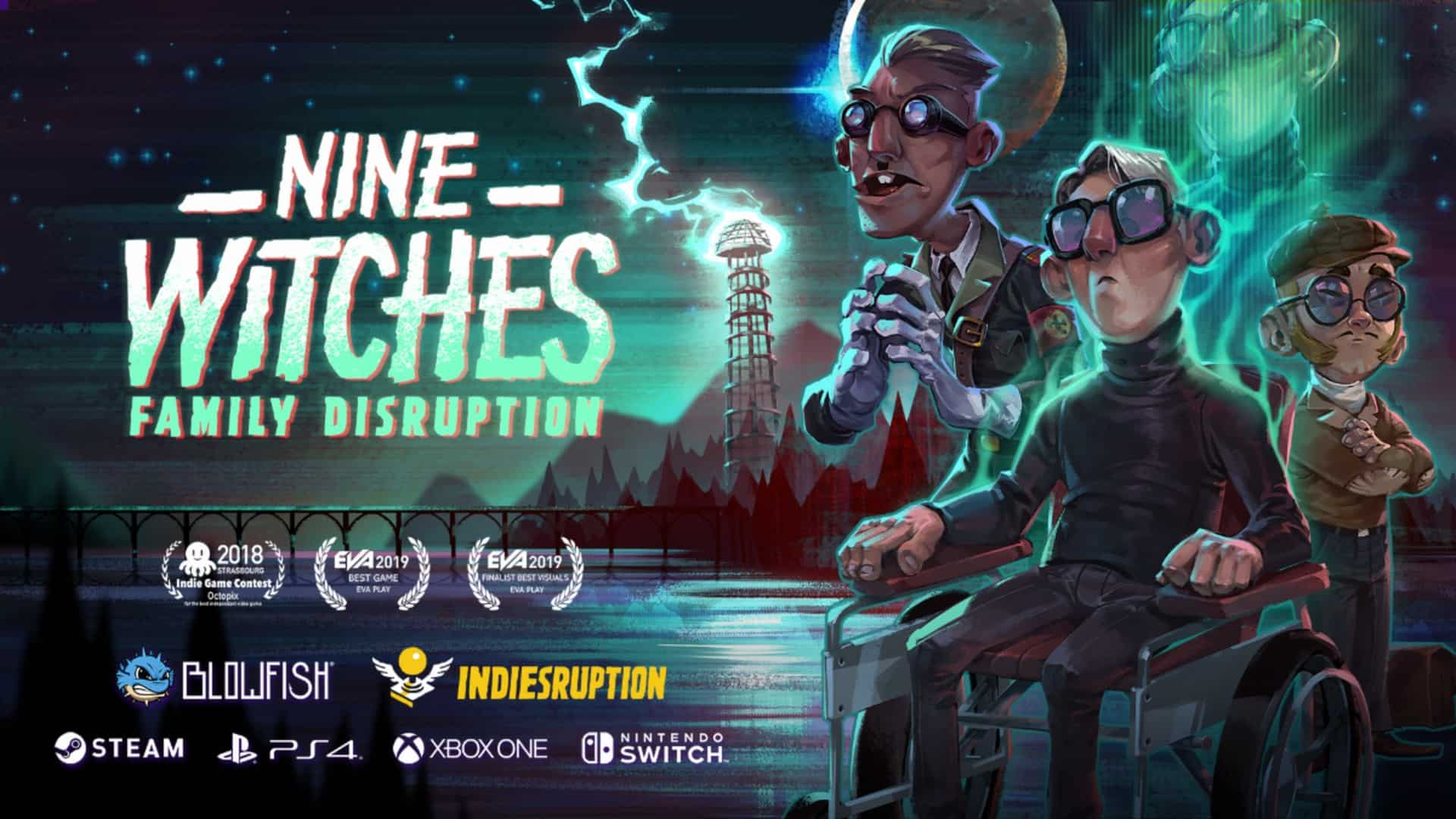Nine Witches: Family Disruption – Available Now