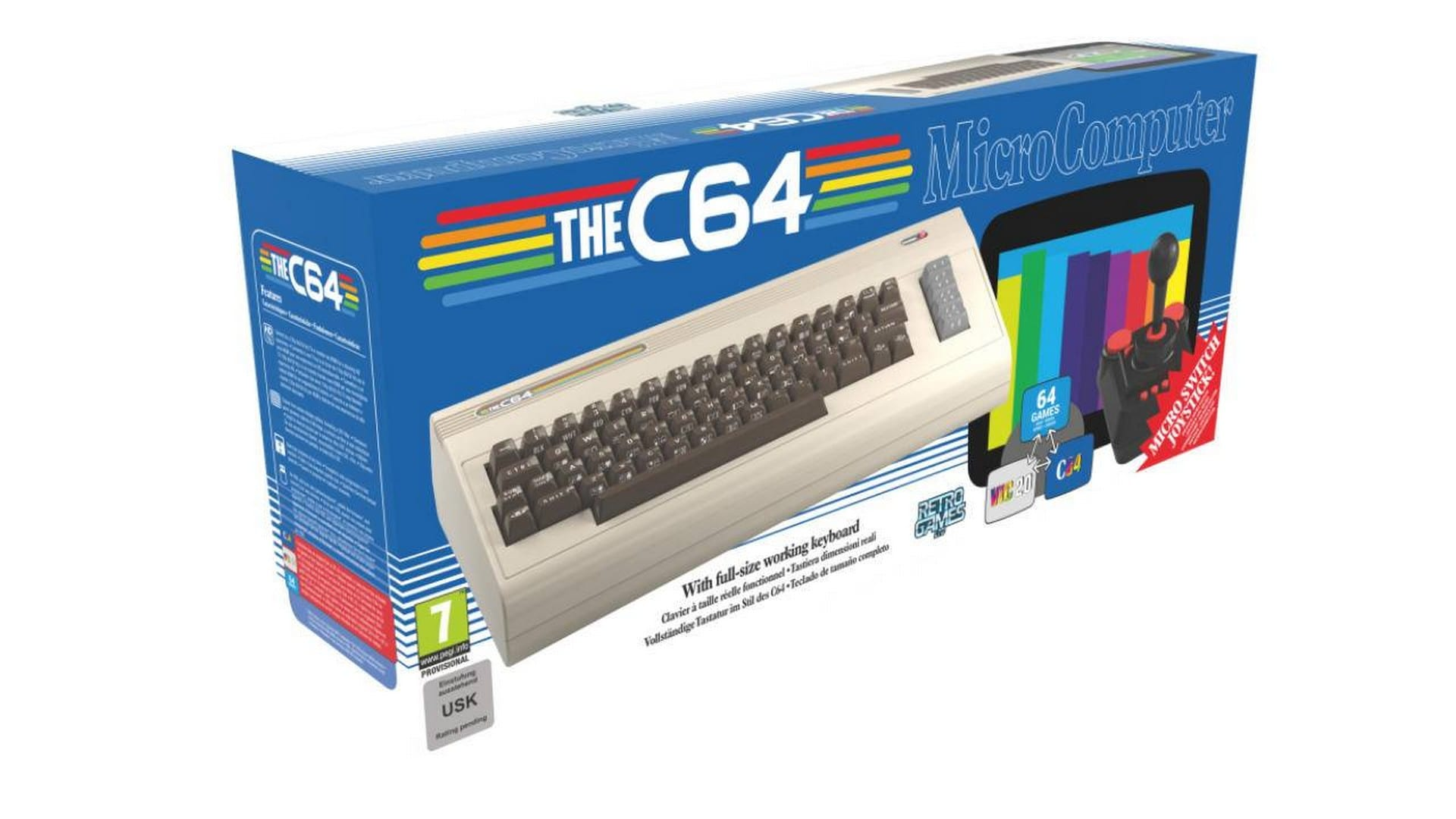 THEC64 Is In Stores Now