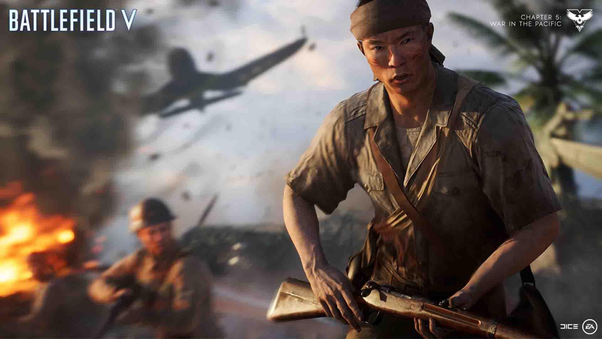 Battlefield V: Wake Island Map Deploys December 12
