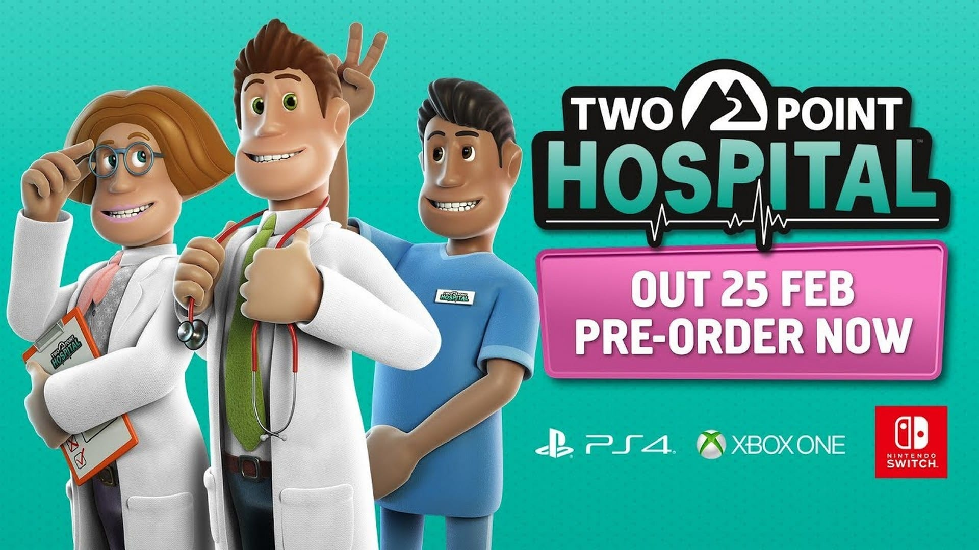 How Does Two Point Hospital Play On Console? Check It Out In A New Developer Video