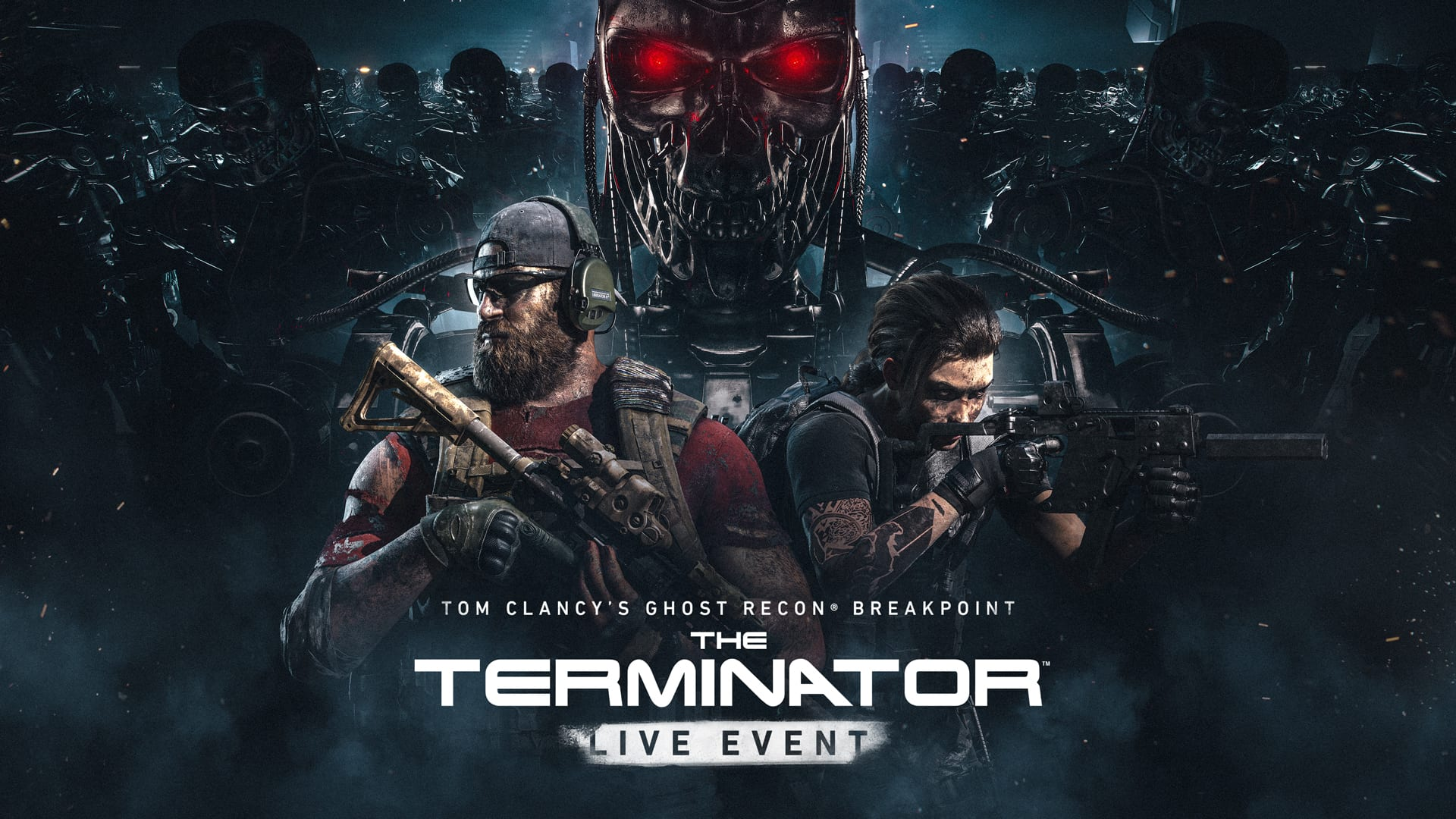 The Terminator Invades Ghost Recon Breakpoint