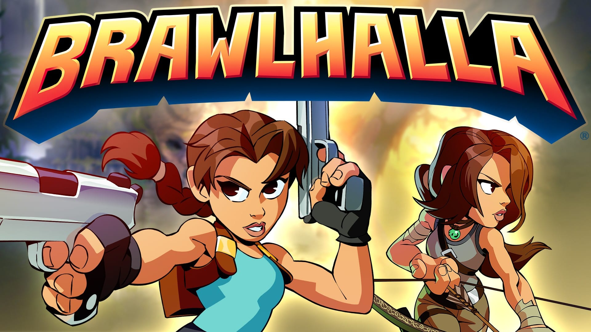 Lara Croft From Crystal Dynamics' Tomb Raider Joins BRAWLHALLA As An Epic Crossover Today