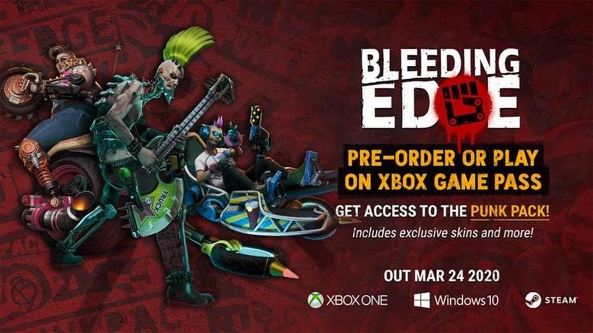 Bleeding Edge Available Now With Xbox Game Pass