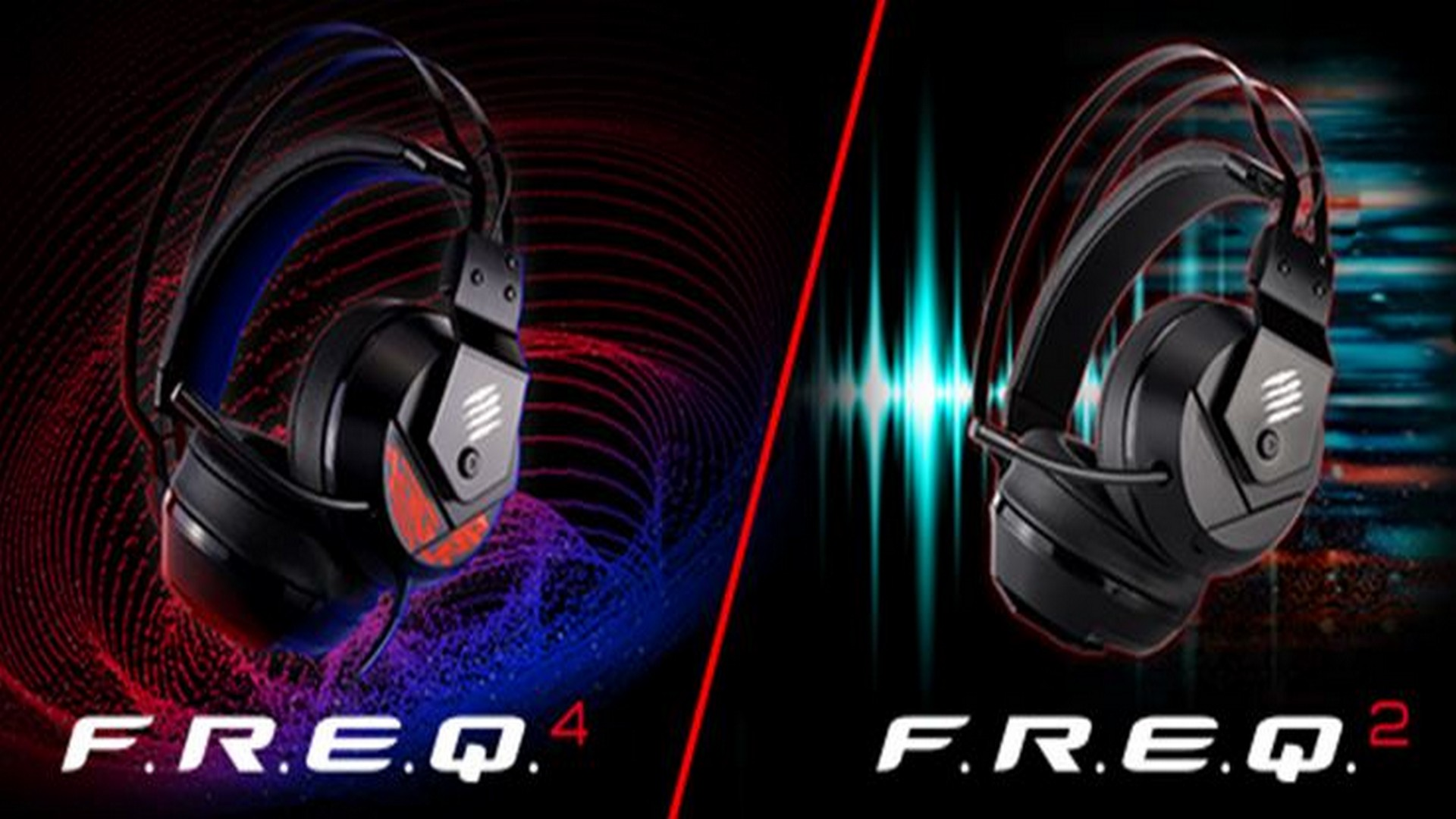 Mad Catz Ship New Range of F.R.E.Q. Gaming Headsets Delivering Professional Grade Gaming Audio
