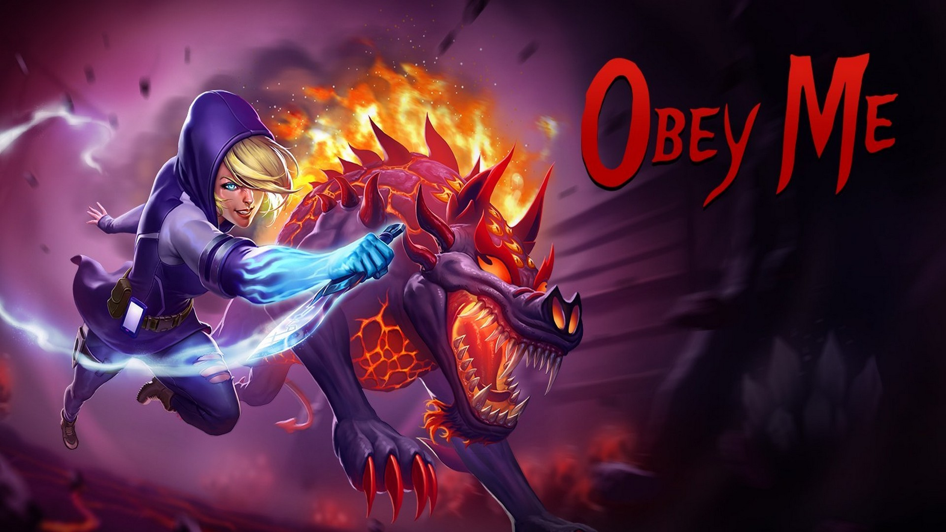 "Holypunk Brawler ""Obey Me"" Delivers Armageddon Today on PC, Consoles"