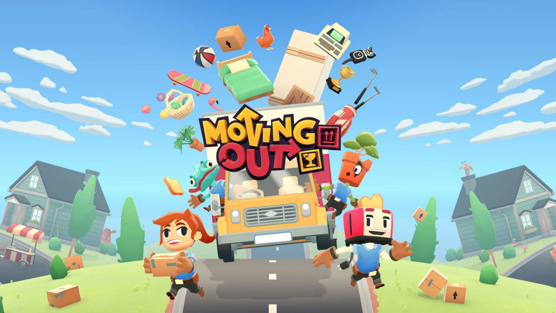 Grab The Boxes & Lift With Your Spine – Moving Out Launches Today