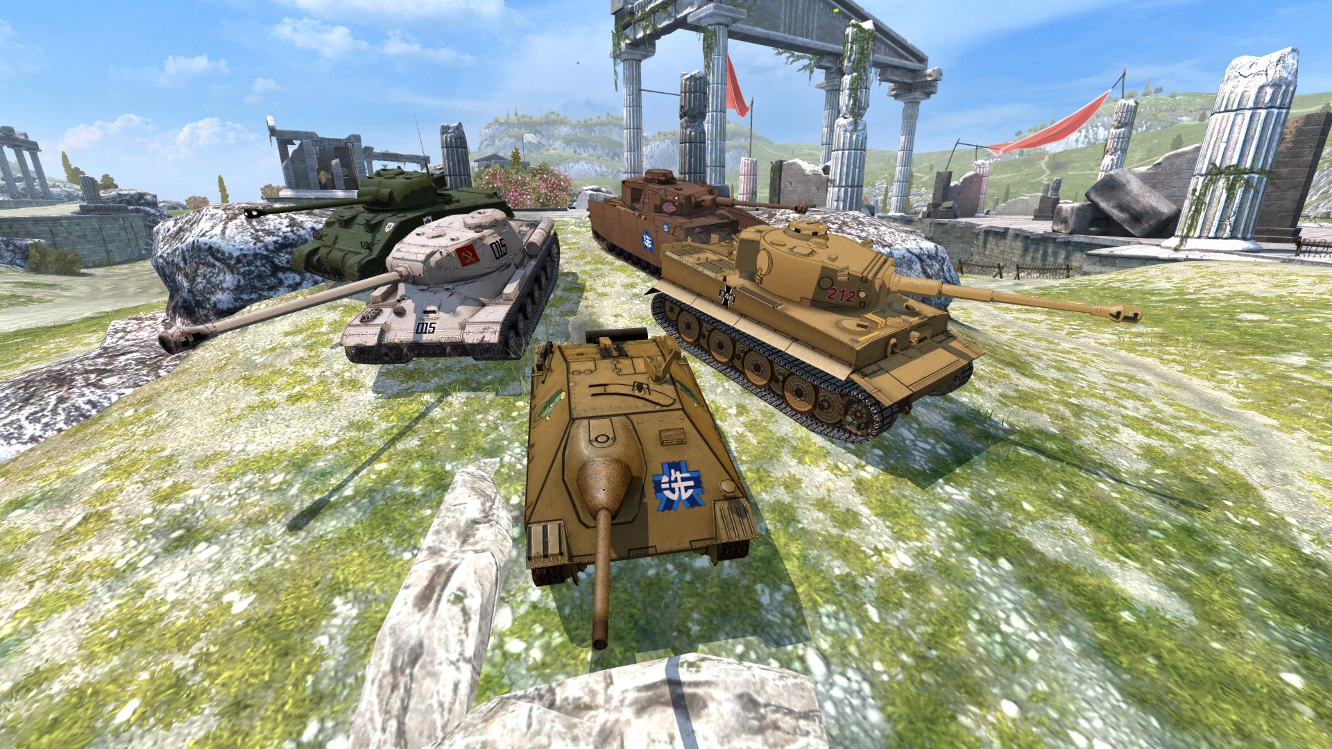 Two New Vehicles From The Girls und Panzer Universe Head for World of Tanks Blitz