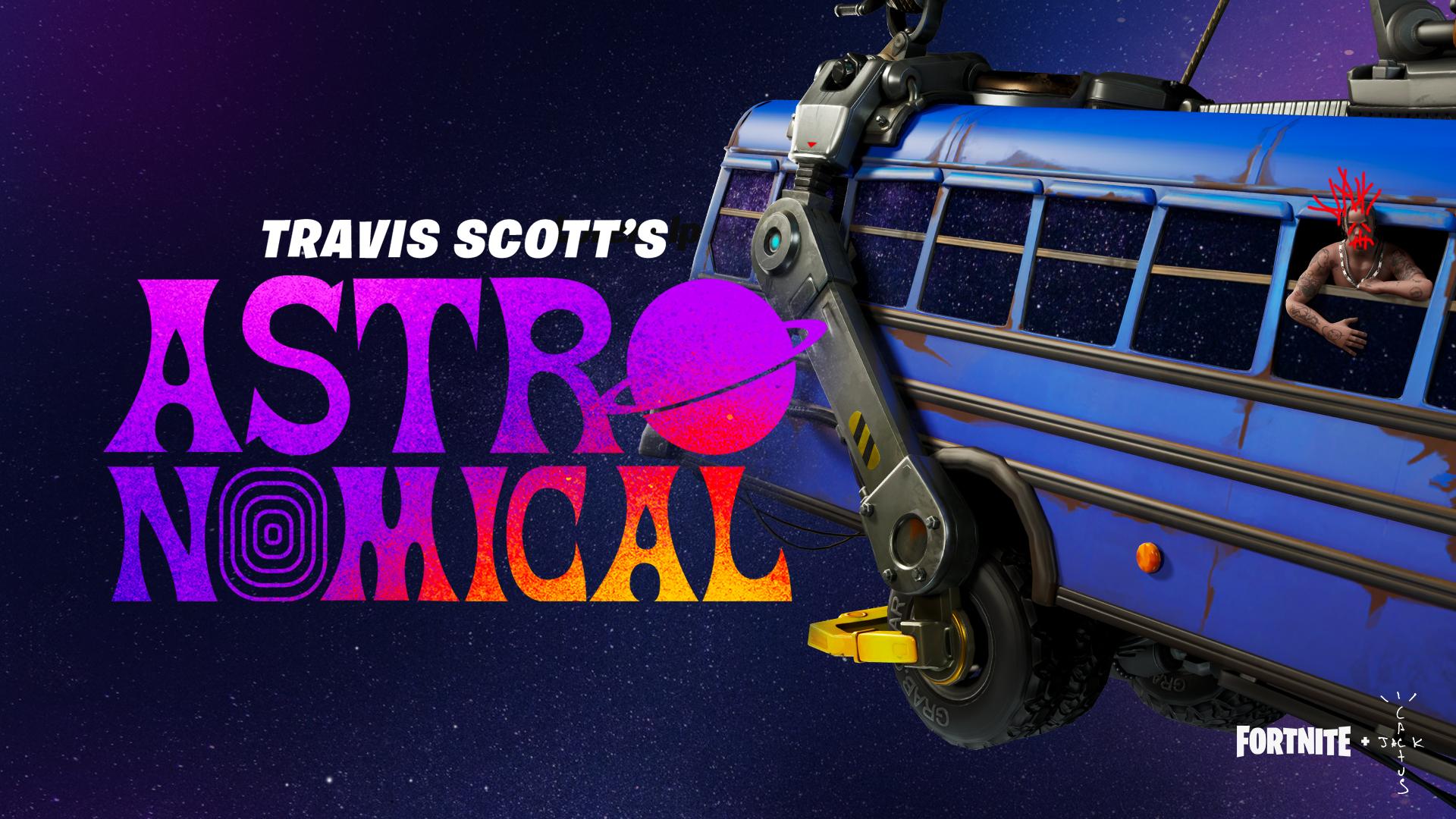 Fortnite and Travis Scott Present: Astronomical