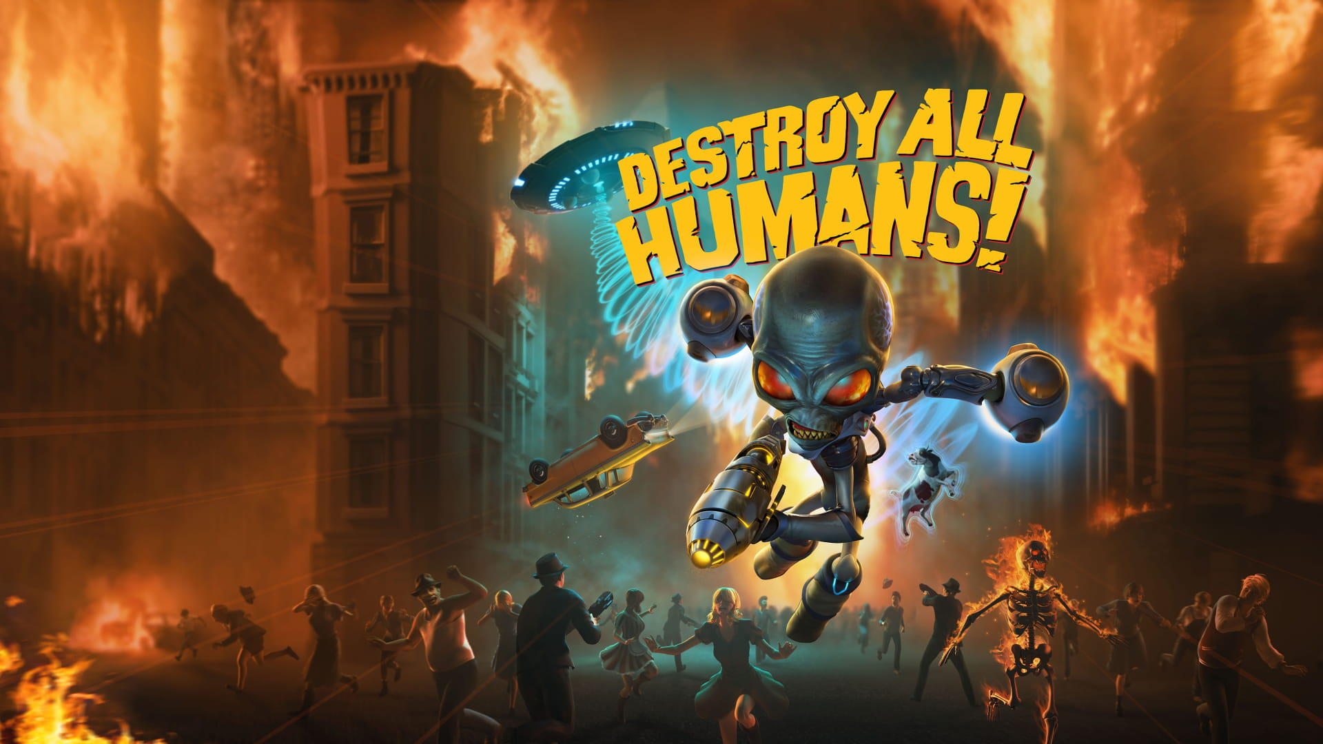 Initiating Probal Defence Measures: The Destroy All Humans! Invasion Date Is Set For July 28th, 2020