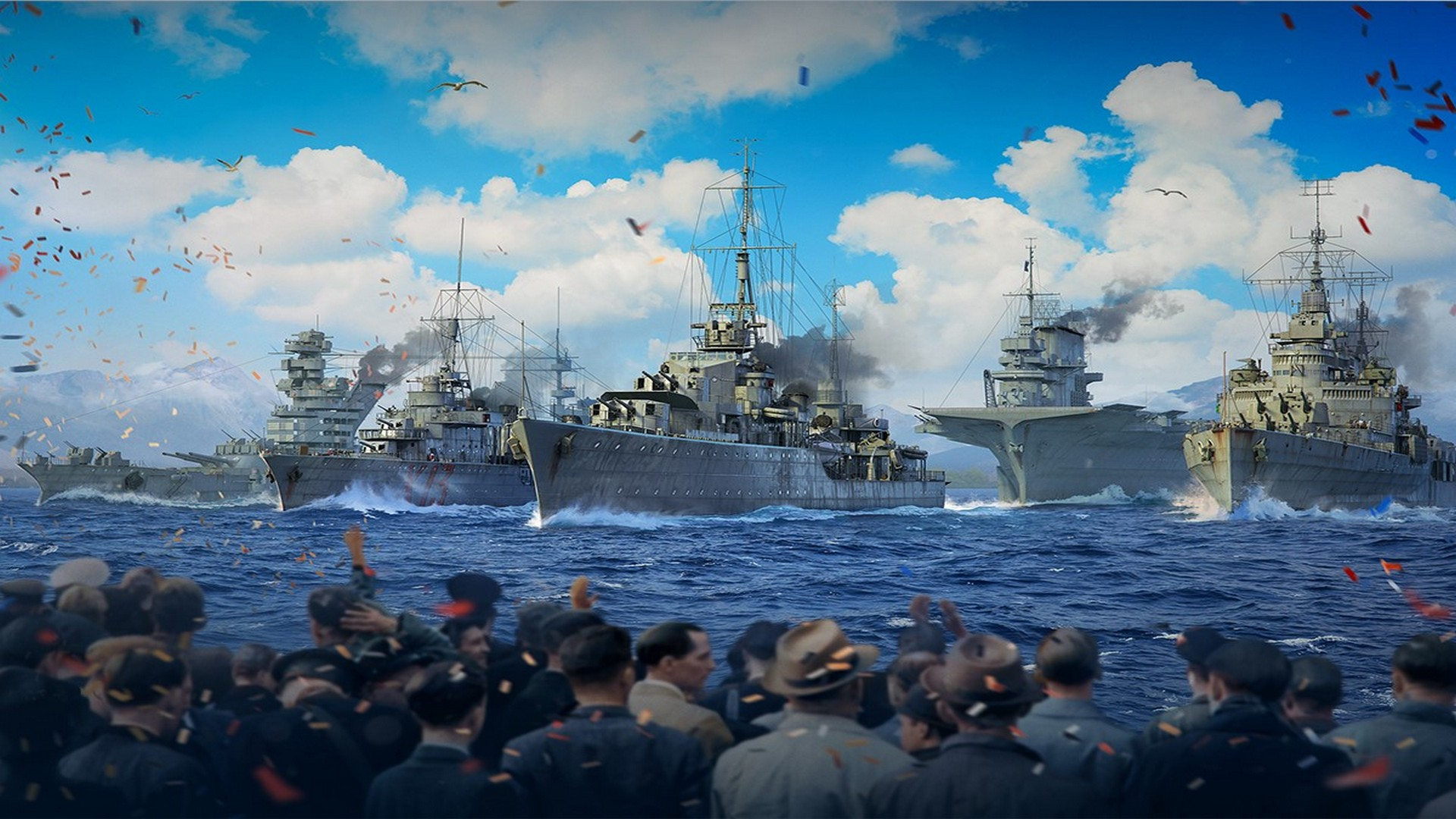 World of Warships To Stream A Live Virtual Navy Parade On May 6