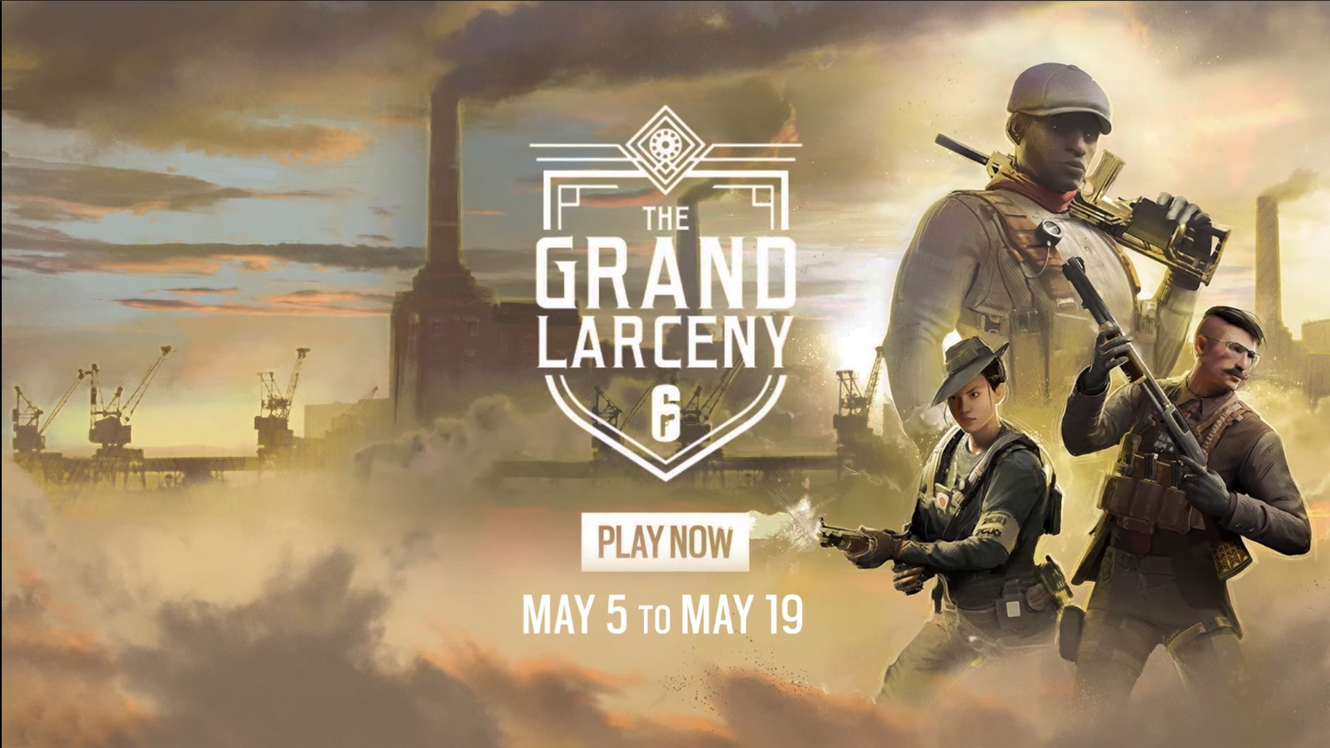 Tom Clancy's Rainbow Six Siege Announces Limited Time Event: The Grand Larceny