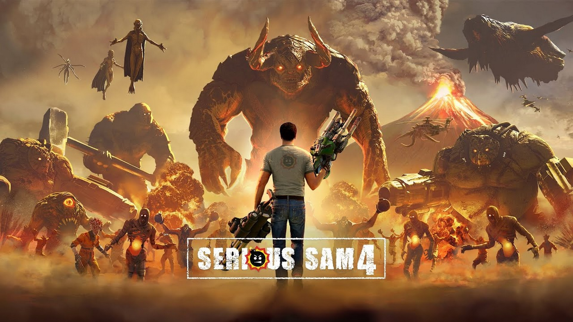Serious Sam 4 Detonates On Steam And Stadia Today