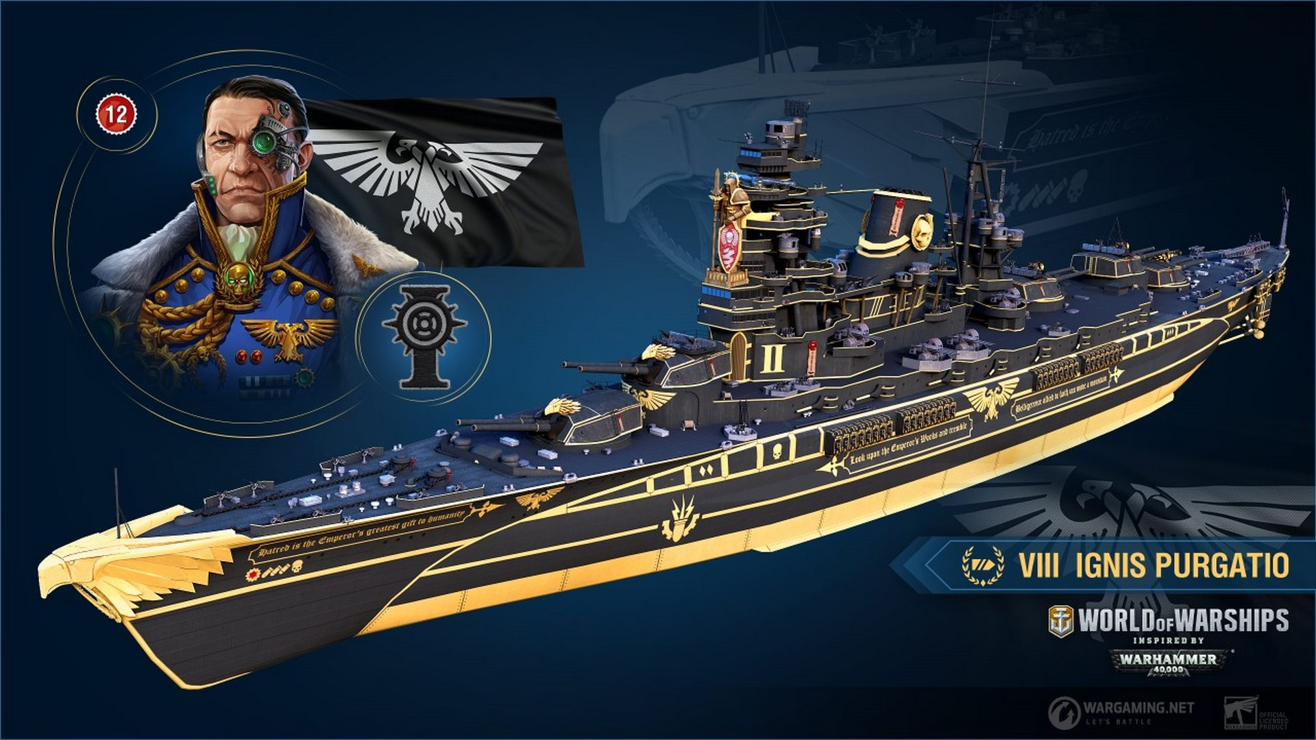 Warhammer 40,000 Invades World of Warships