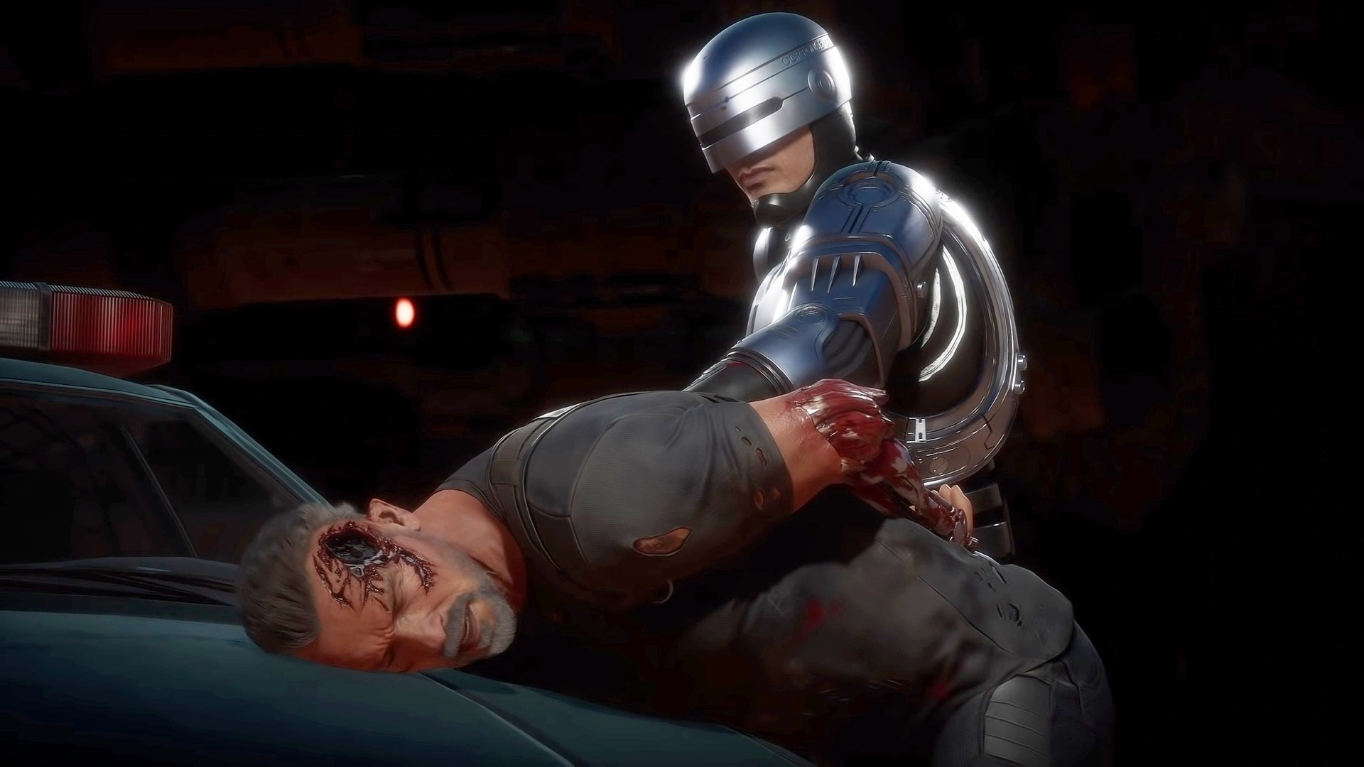 New Mortal Kombat 11: Aftermath Trailer Debut Iconic Konfrontation Between RoboCop & The Terminator