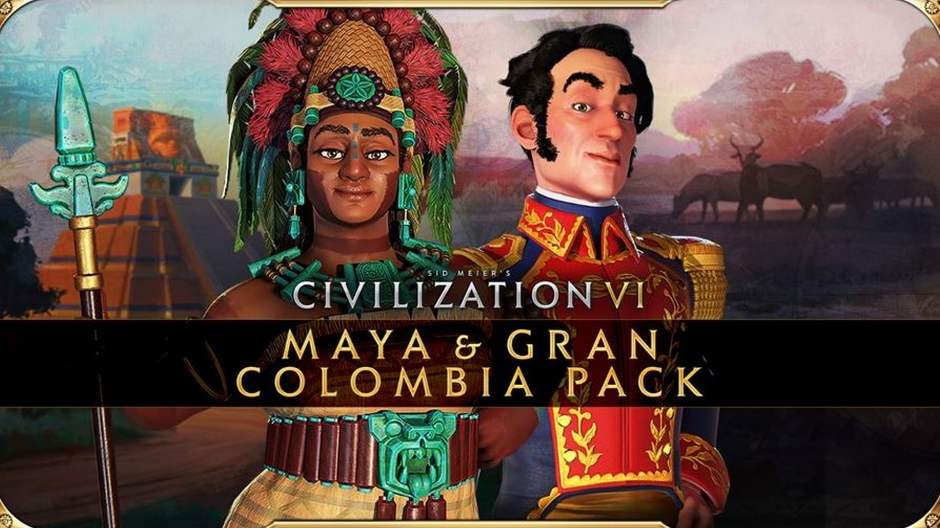 Civilization VI – New Frontier Pass: Maya & Gran Colombia Pack Available Today