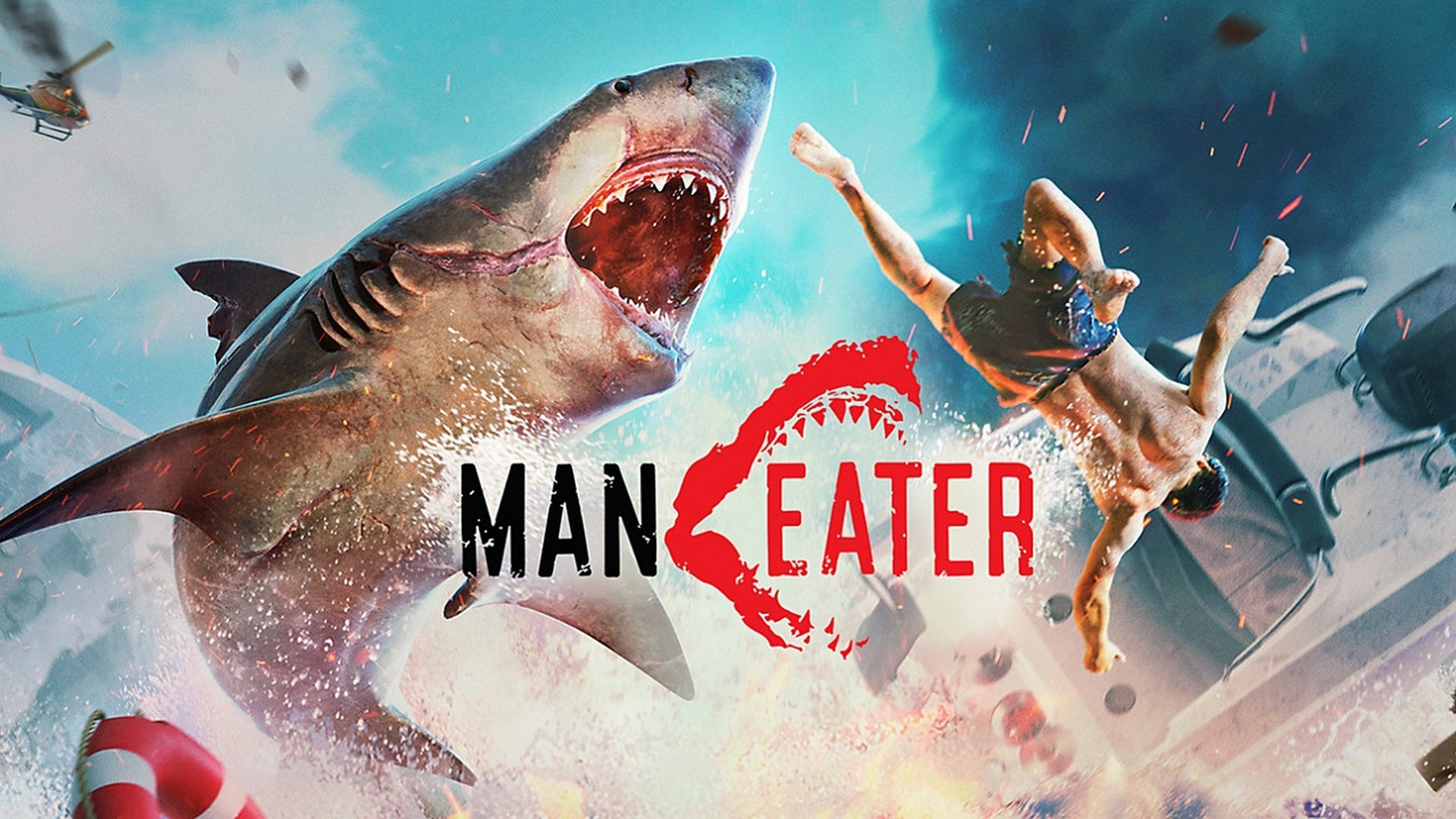 Become the Ultimate Apex Predator of the Seas in Maneater, Gaming's First ShARkPG Out Now on  PlayStation®4, Xbox One, and PC