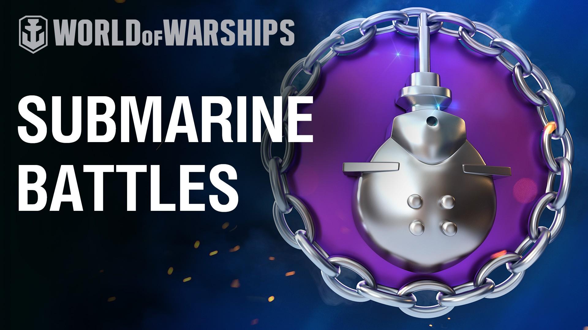 Submarines Return To World of Warships