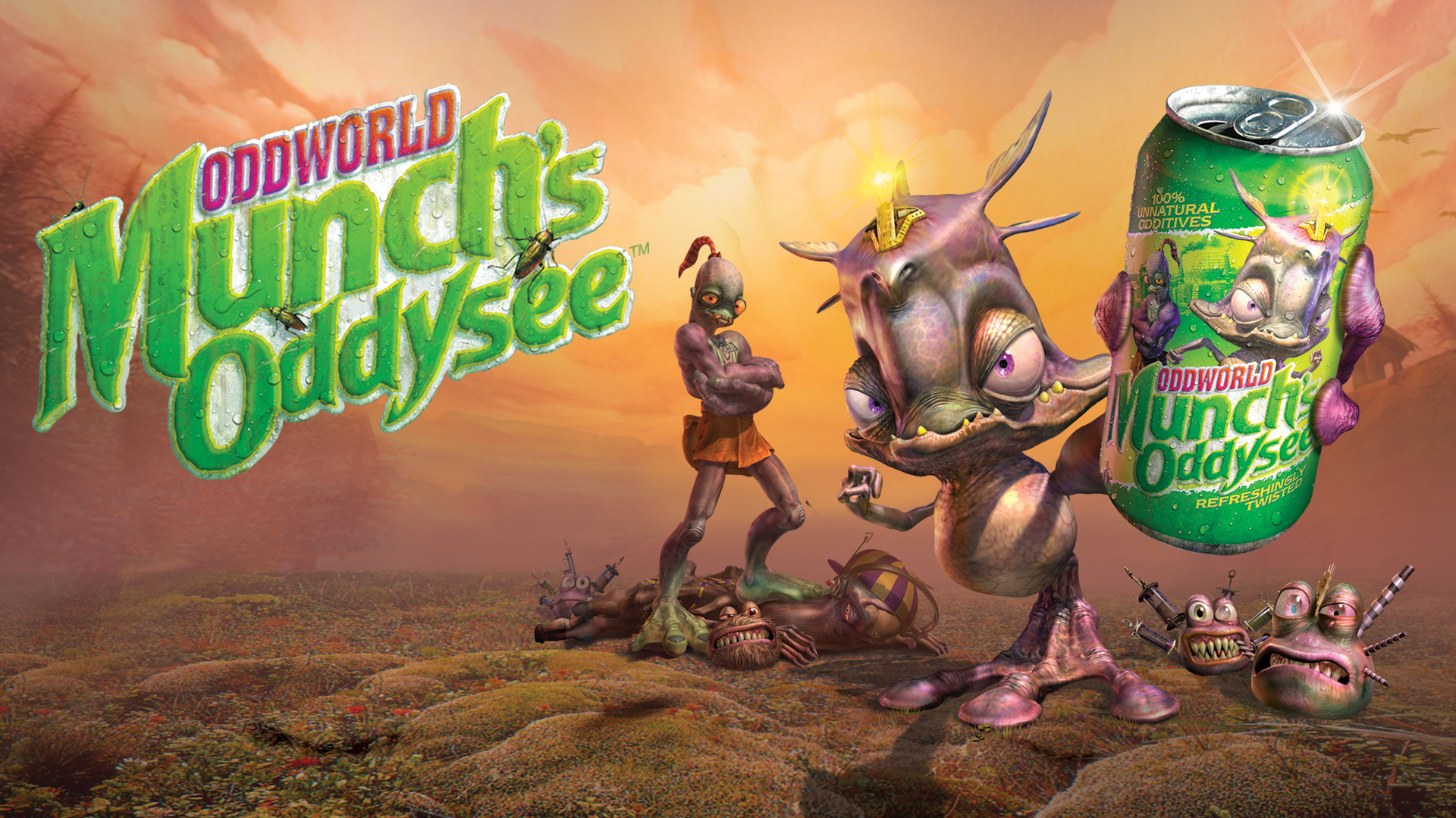 Oddworld: Munch's Oddysee Is Available In Stores Now