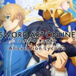 New Sword Art Online Alicization Lycoris Trailer Out Now