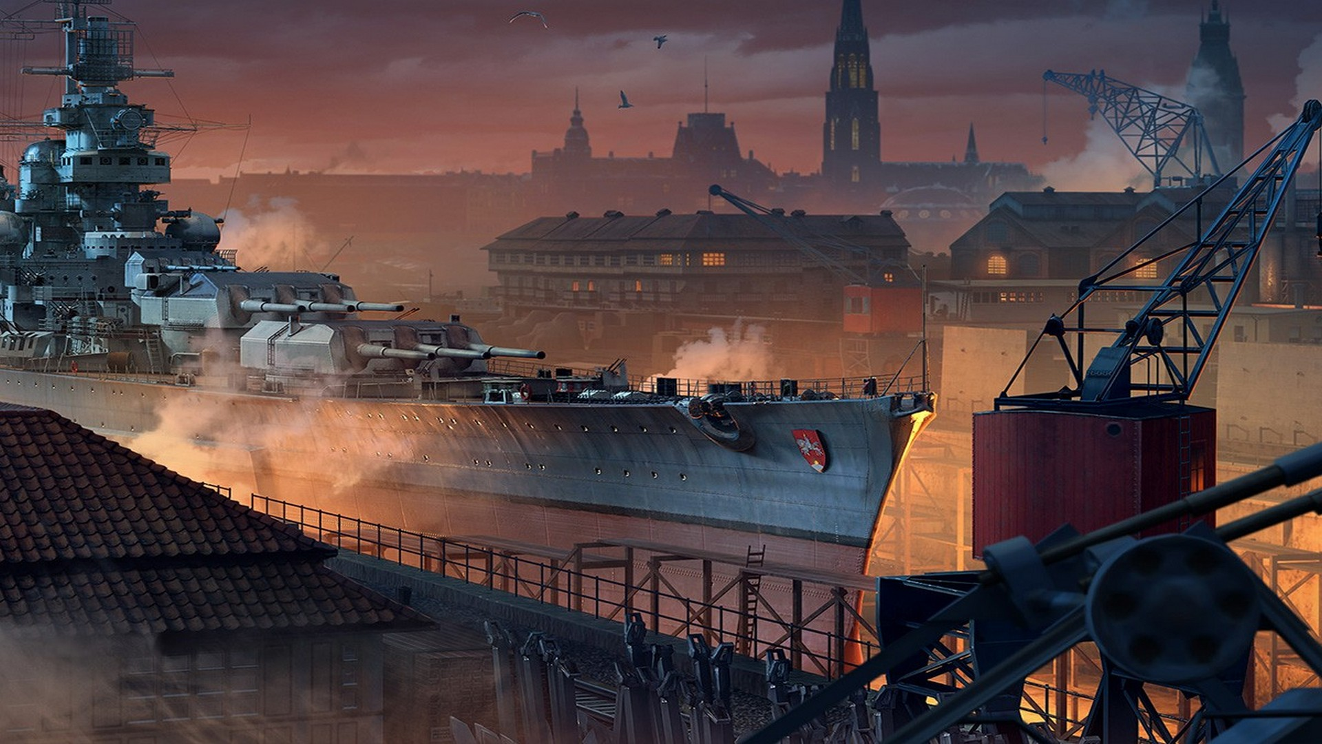 New Hamburg Dockyard Ready To Construct In World of Warships