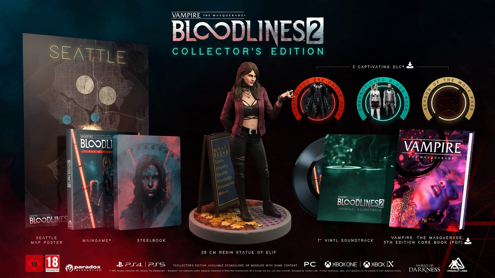 Vampire: The Masquerade – Bloodlines 2 Limited Collector's Edition Announced