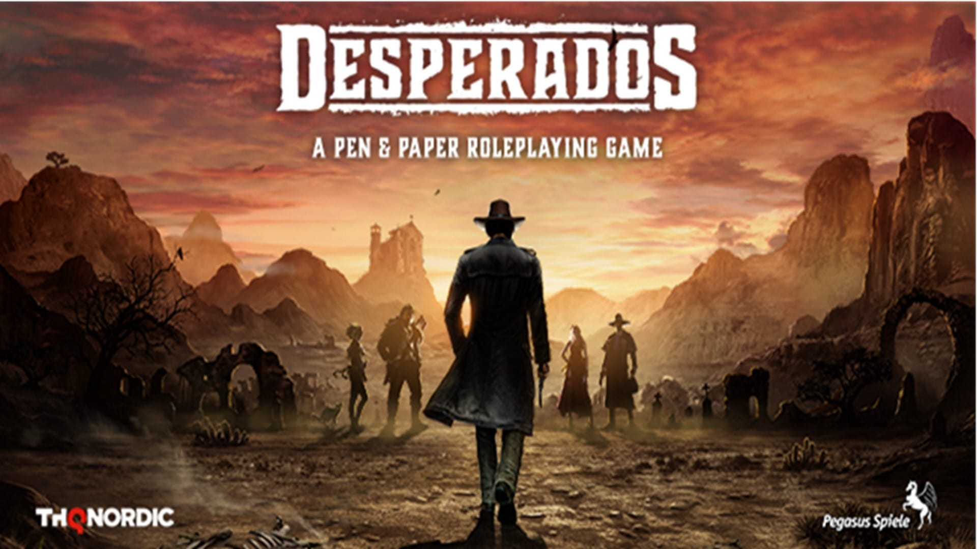 Bringing It To The Table Desperados Gets A Free Pen Paper Rpg Today Mkau Gaming