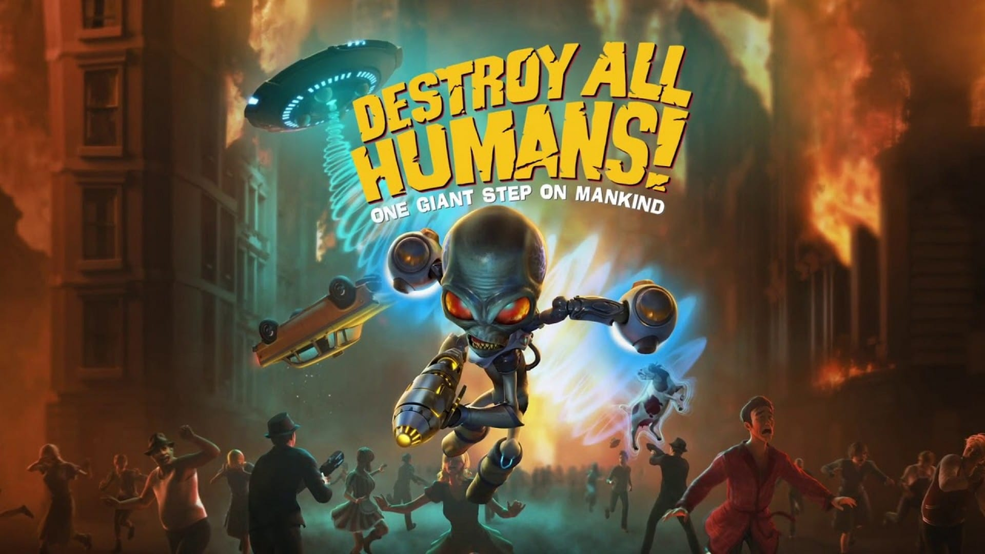 The Invasion Has Begun – Destroy All Humans! Is Out Now