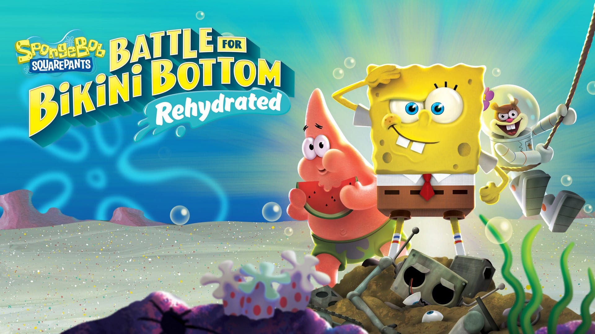 The Accolades Trailer For Spongebob Squarepants: Battle For Bikini Bottom – Rehydrated is Available Now