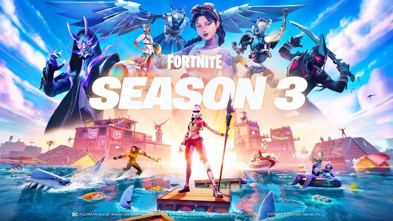 Splash Down Into Fortnite Chapter 2 – Season 3