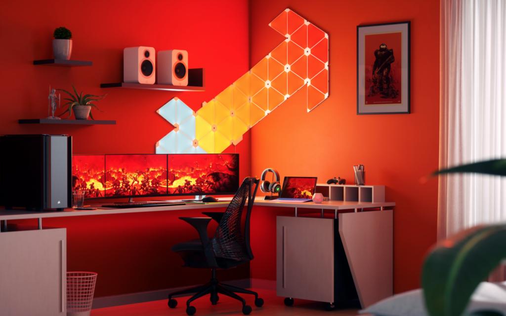 Create The Ultimate Gaming Setup - Nanoleaf Gaming Themes, Pac-Man 40th, Screen Mirroring | MKAU ...