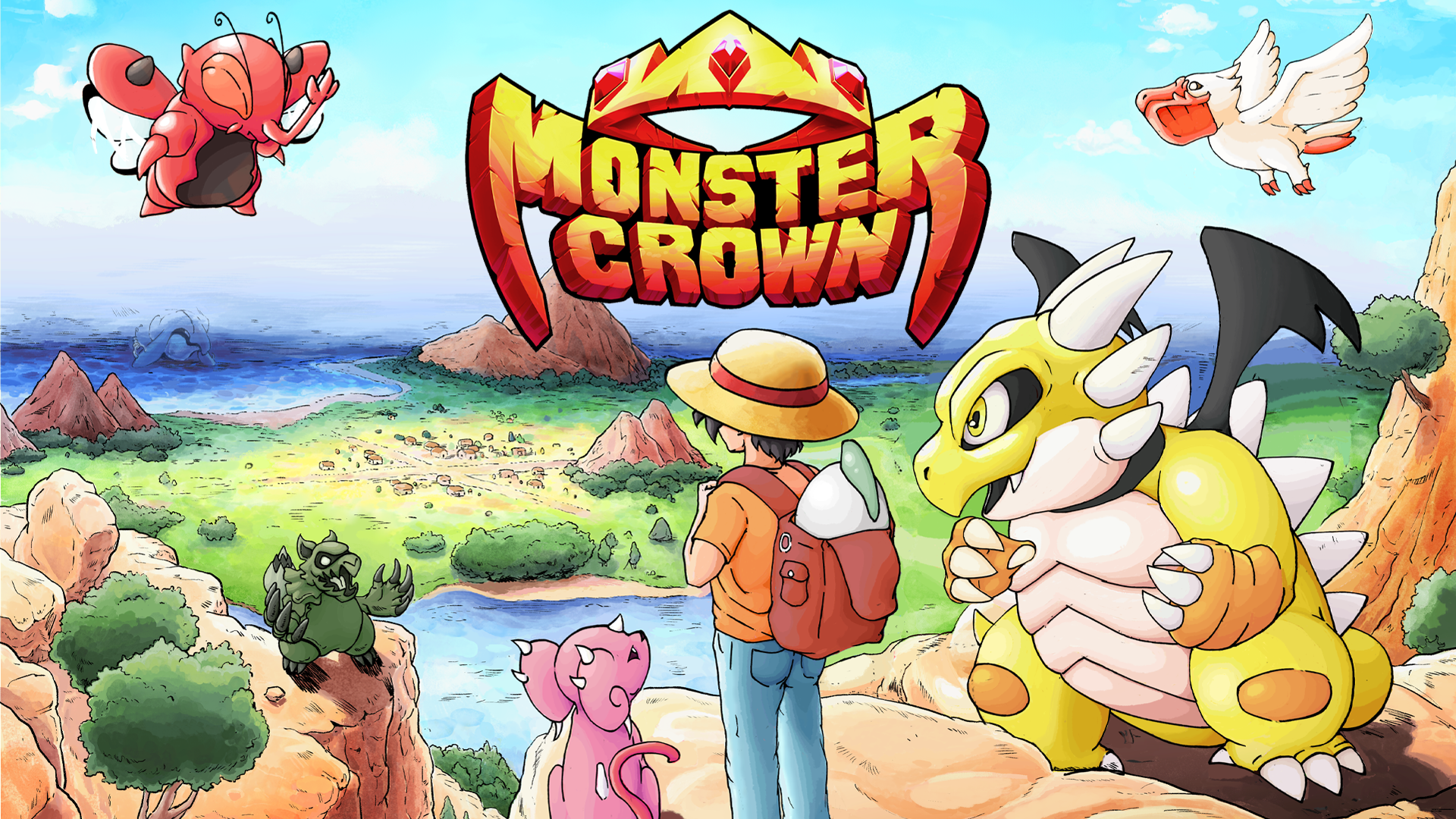Monster Crown, A Childhood Dream Turned Reality, Launches On Steam Early Access