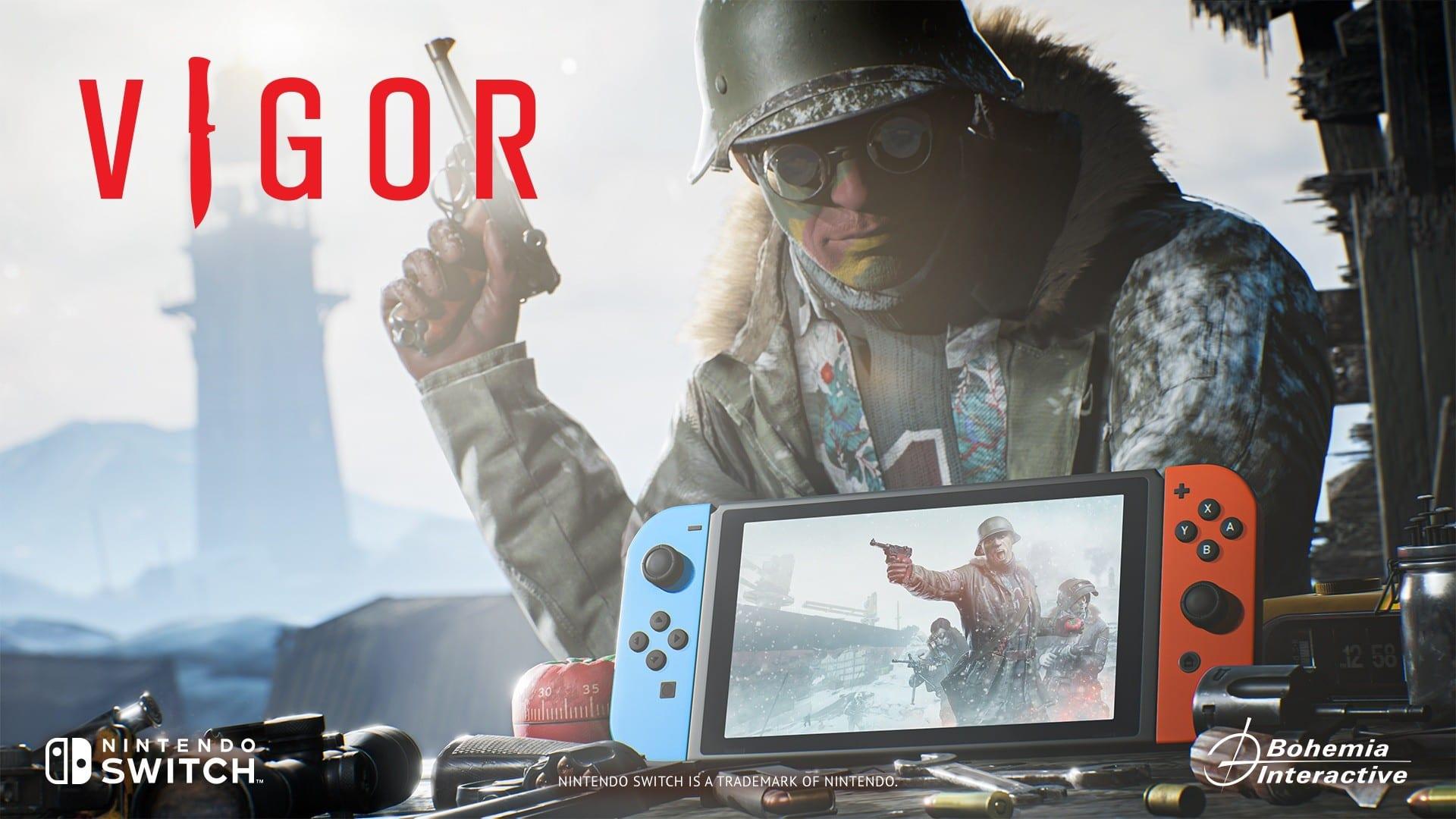 Vigor Releasing On Nintendo Switch Today
