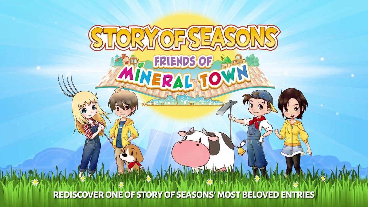 Story Of Seasons: Friends Of Mineral Town Available Now on Nintendo Switch In Australia & New Zealand