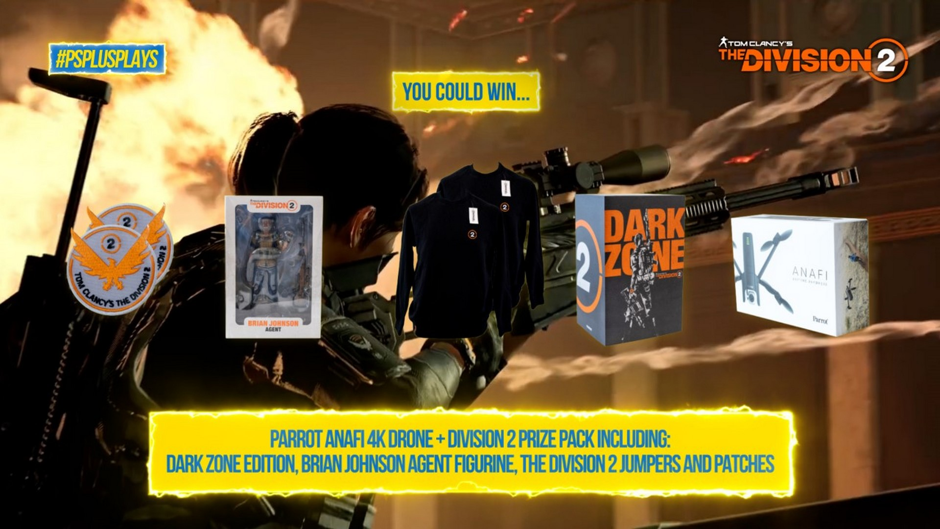 PlayStation Australia Announces #PSPlusPlays Challenge For August With Tom Clancy's The Division 2
