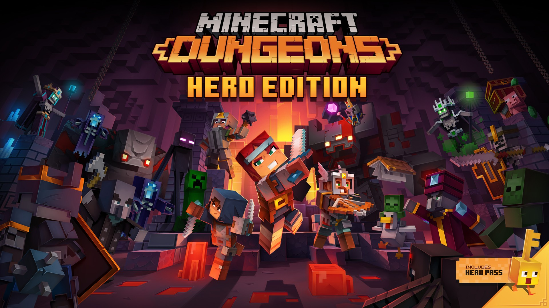 Minecraft Dungeons: Hero Edition Now Available On Playstation 4 At Australian Retailers