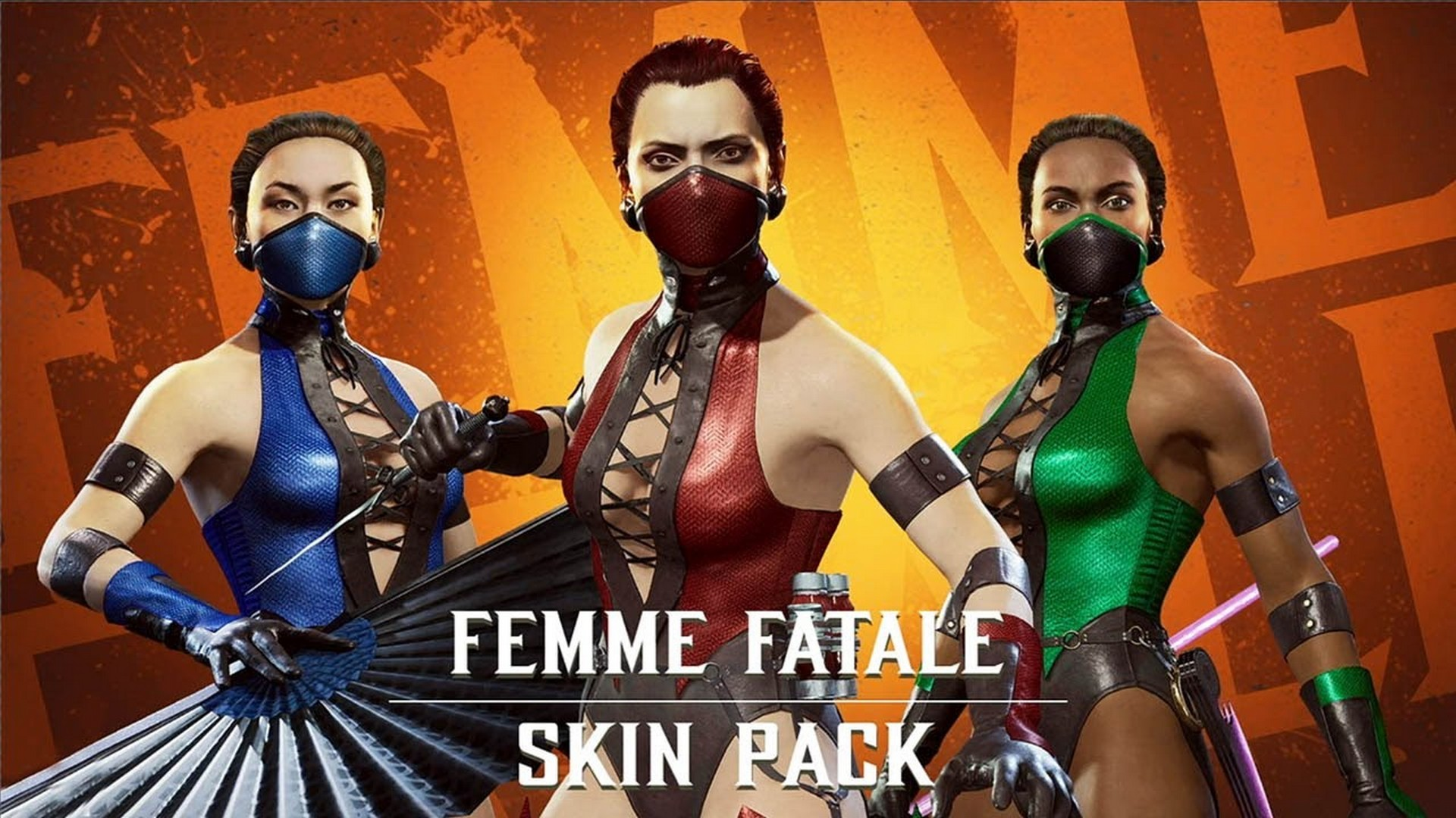 New Klassic Femme Fatale Character Skin Pack Available Now as Part of Mortal Kombat 11: Aftermath Expansion