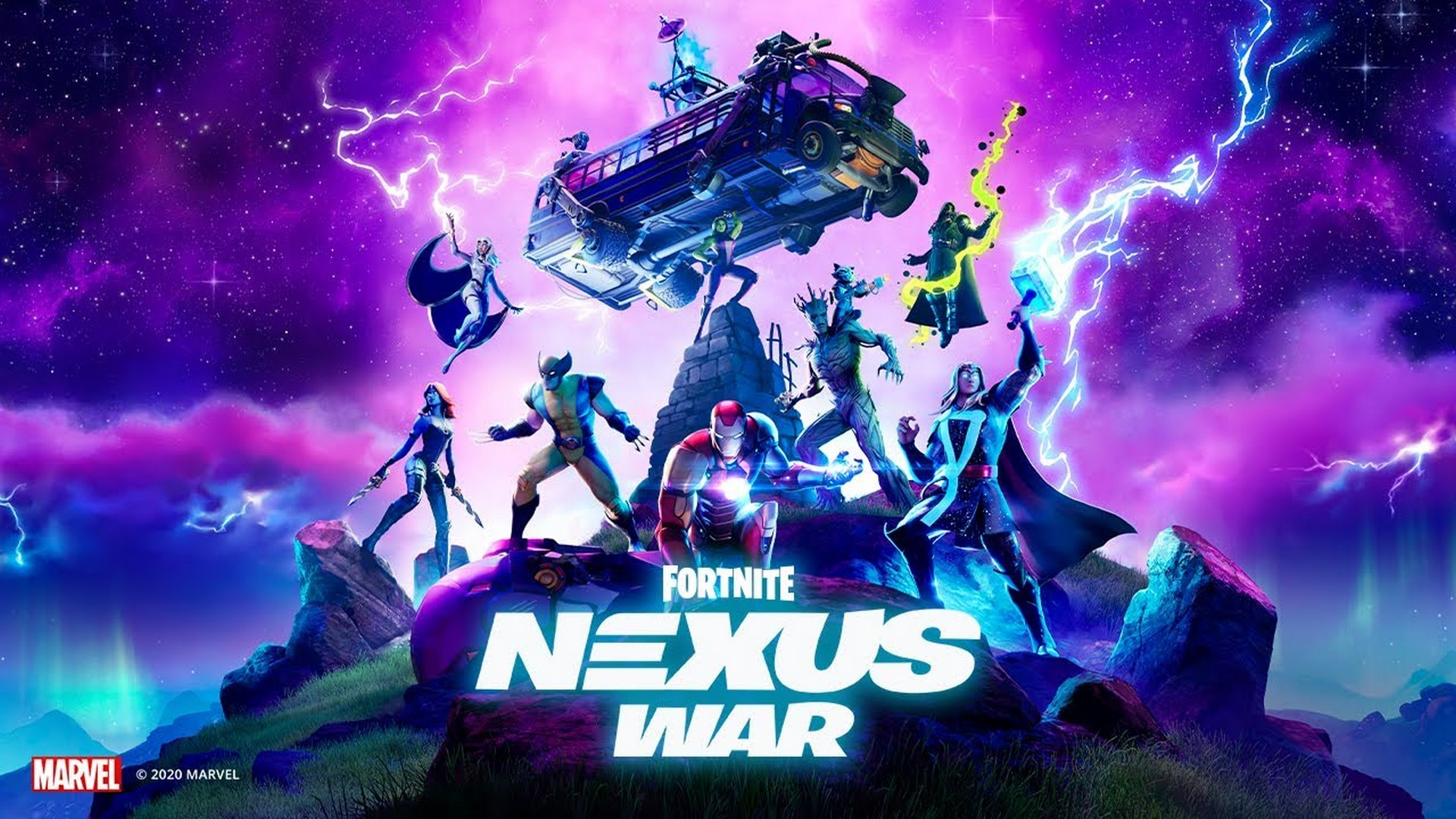 Join Marvel Heroes And Villains In Fortnite Nexus War, Available Now