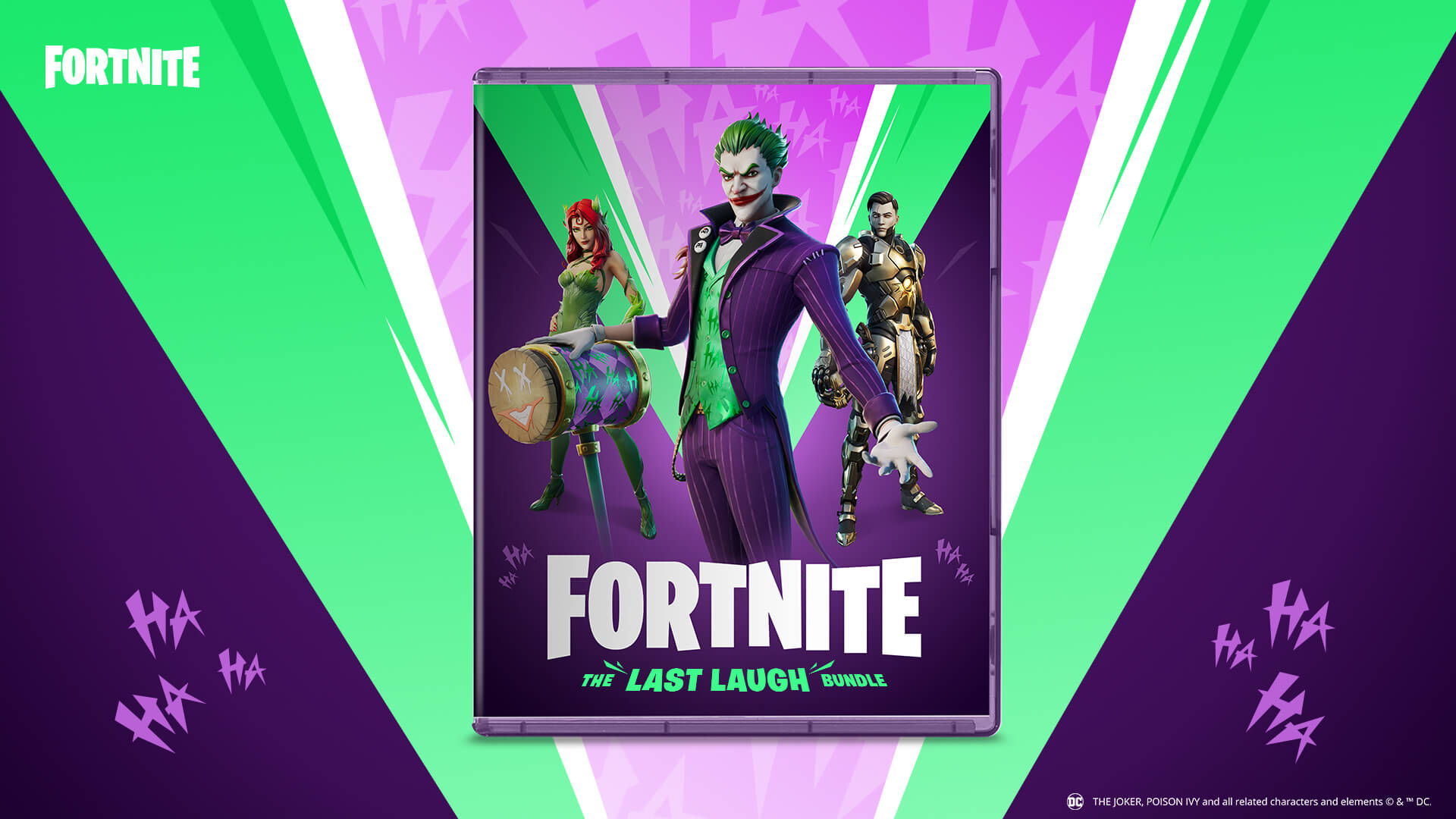 Warner Bros, Epic Games & DC Announce All-New Fortnite Bundle Coming This Spring