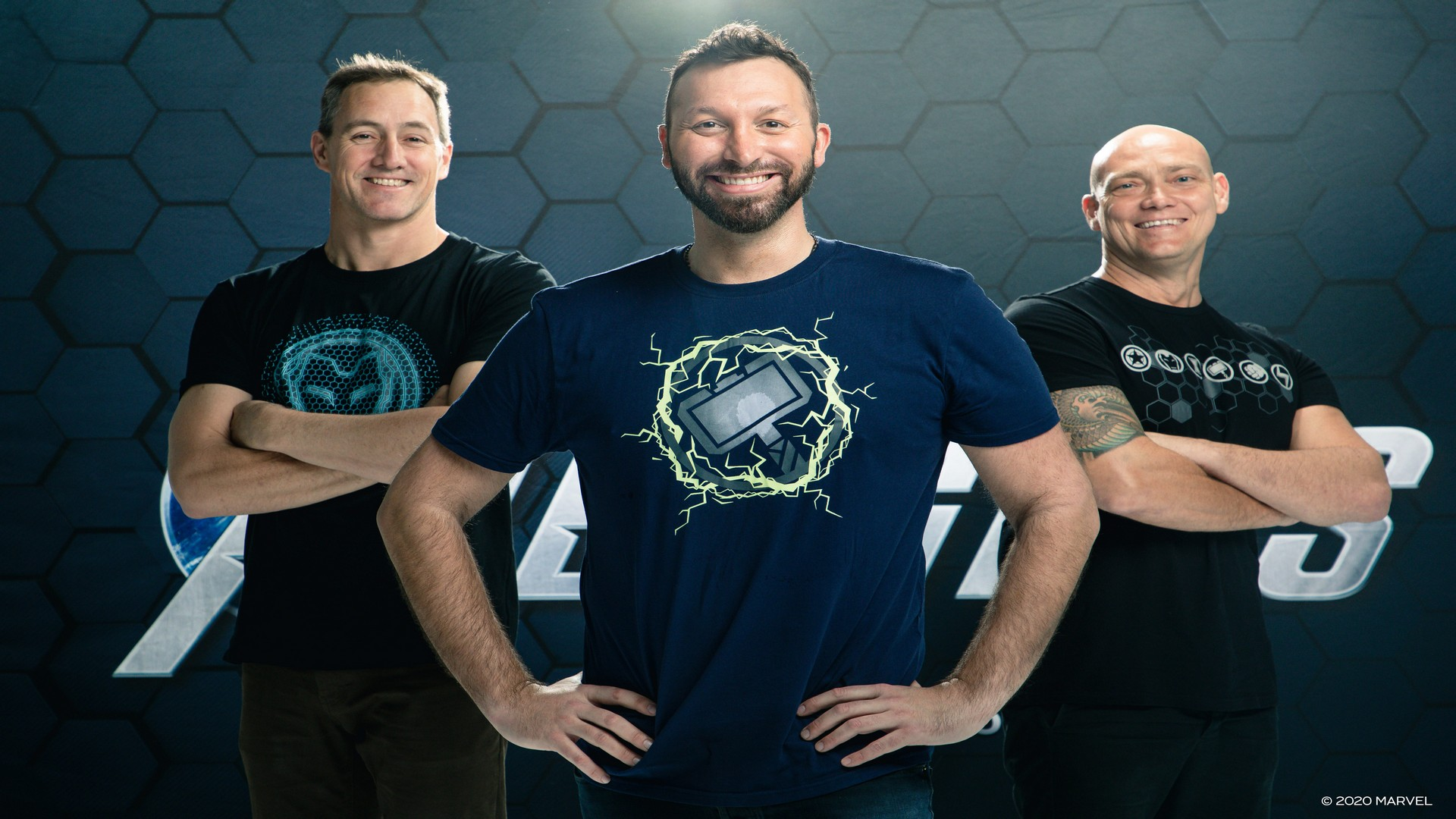 Marvel's Avengers Launches Today Reassembling Australia's Gold Medal Winning Men's Freestyle Relay Team For The 20th Anniversary